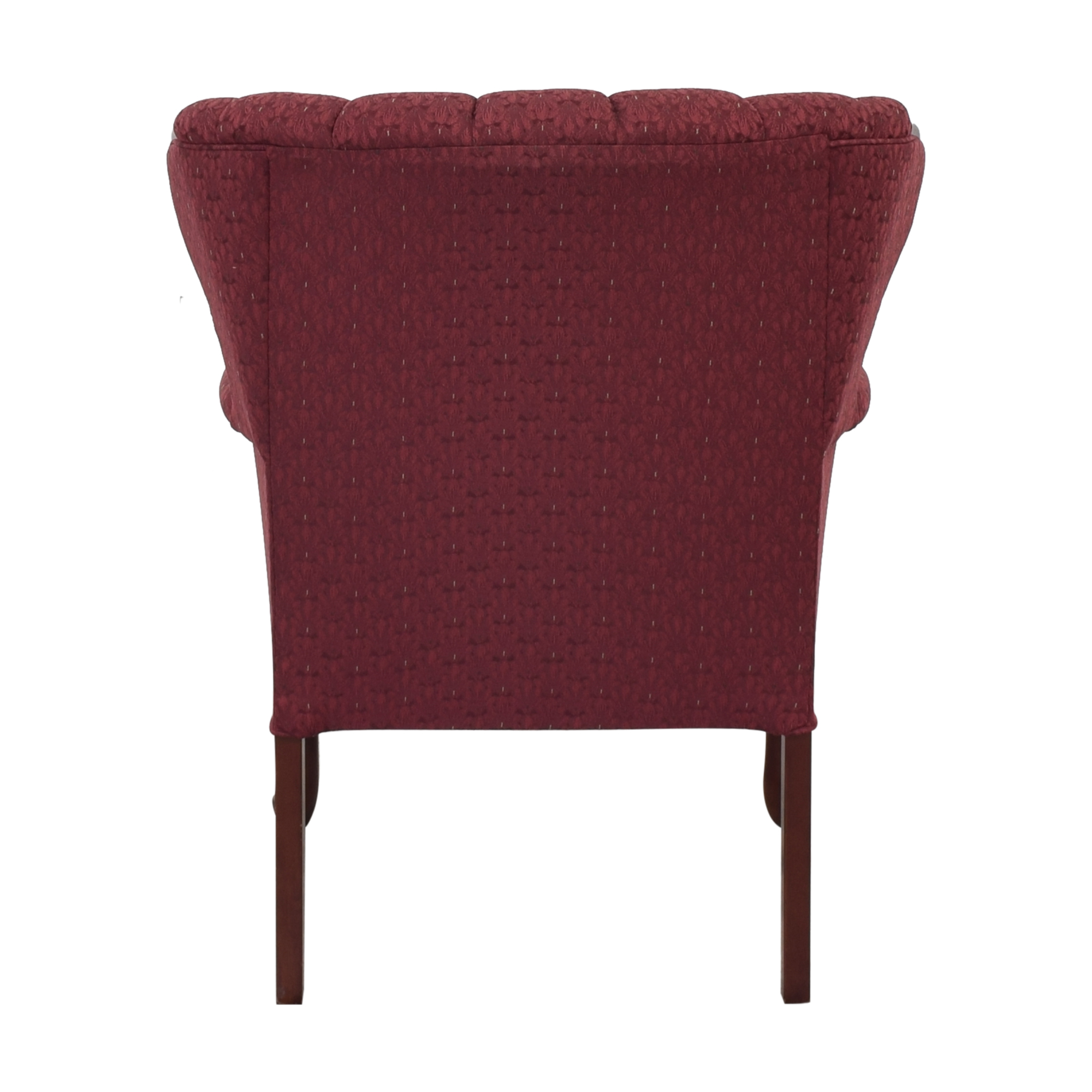 Best Chairs Best Chairs Queen Anne Scallop-Back Chair and Ottoman pa