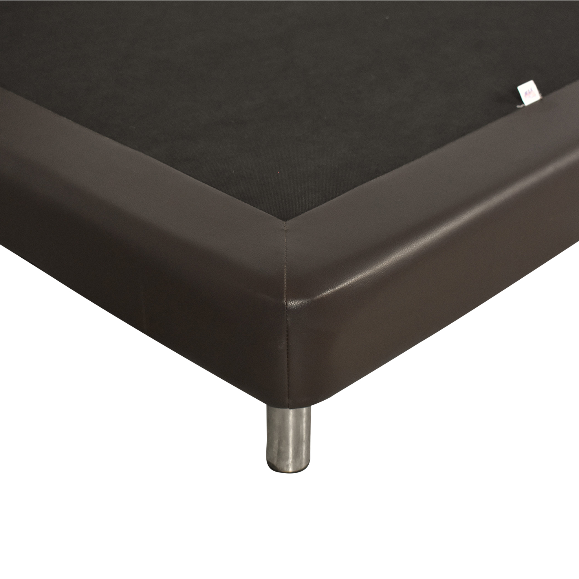 shop Twin Bed with Padded Headboard  Beds