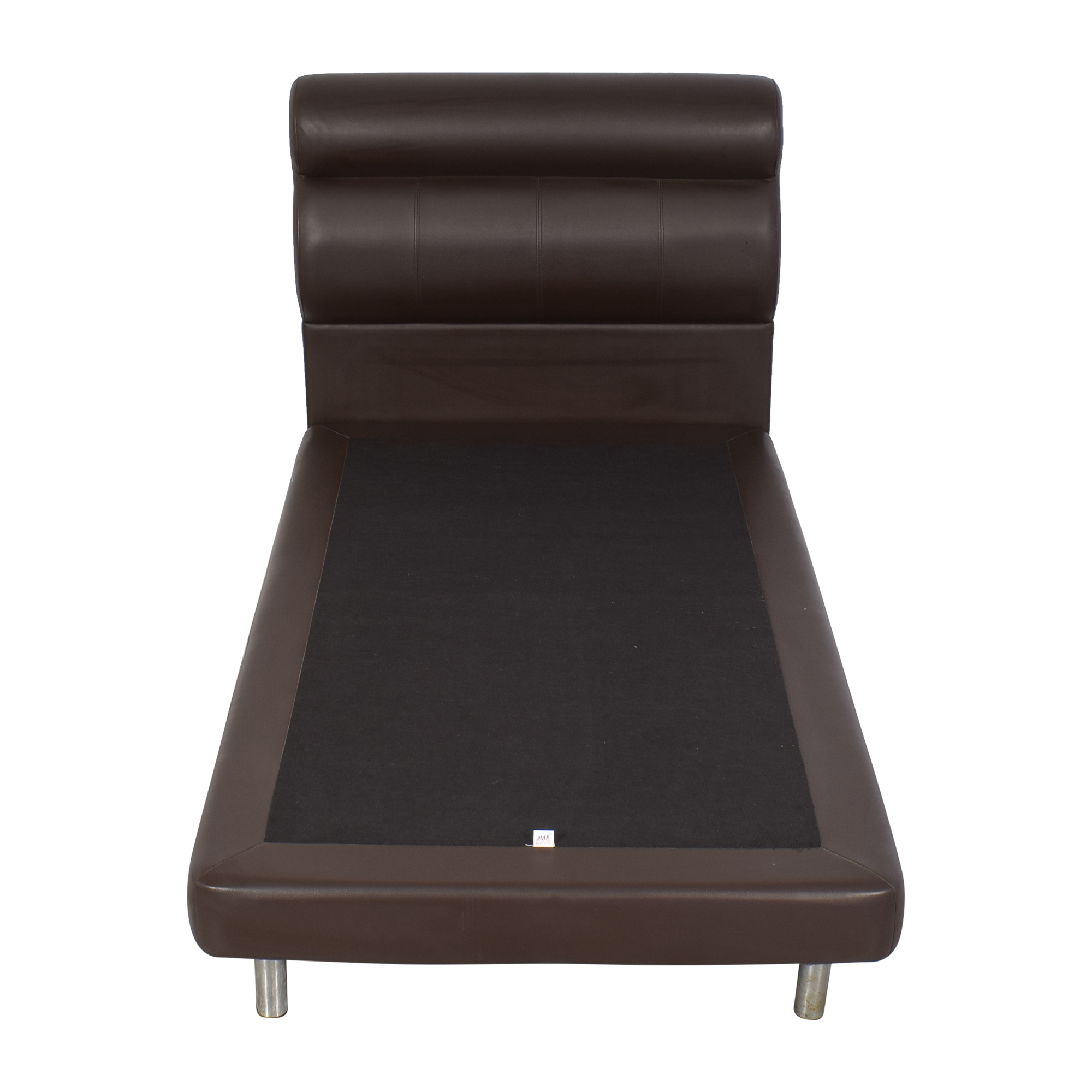 buy Twin Bed with Padded Headboard  Beds