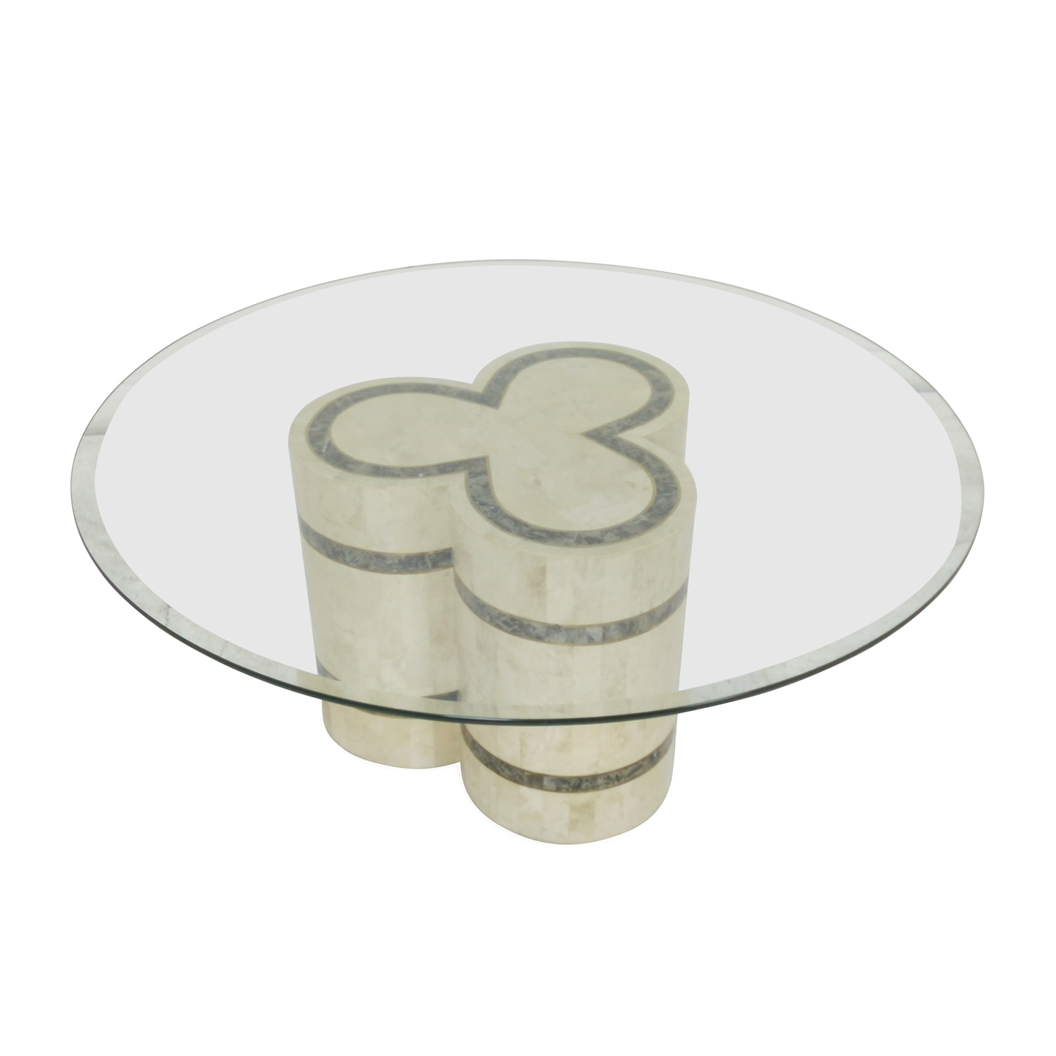 buy Vintage Vintage Glass Coffee Table online