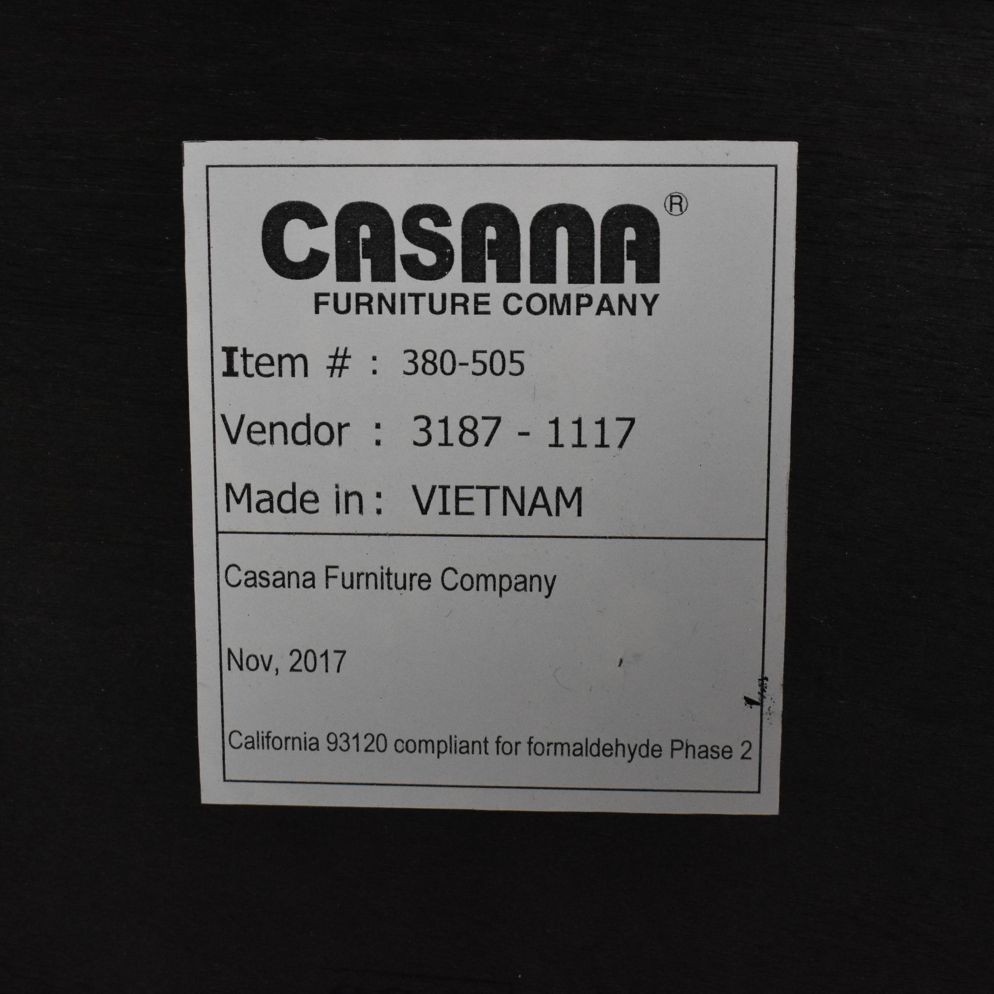 shop Casana Furniture Casana Juliette Queen Bed with Upholstered Headboard online