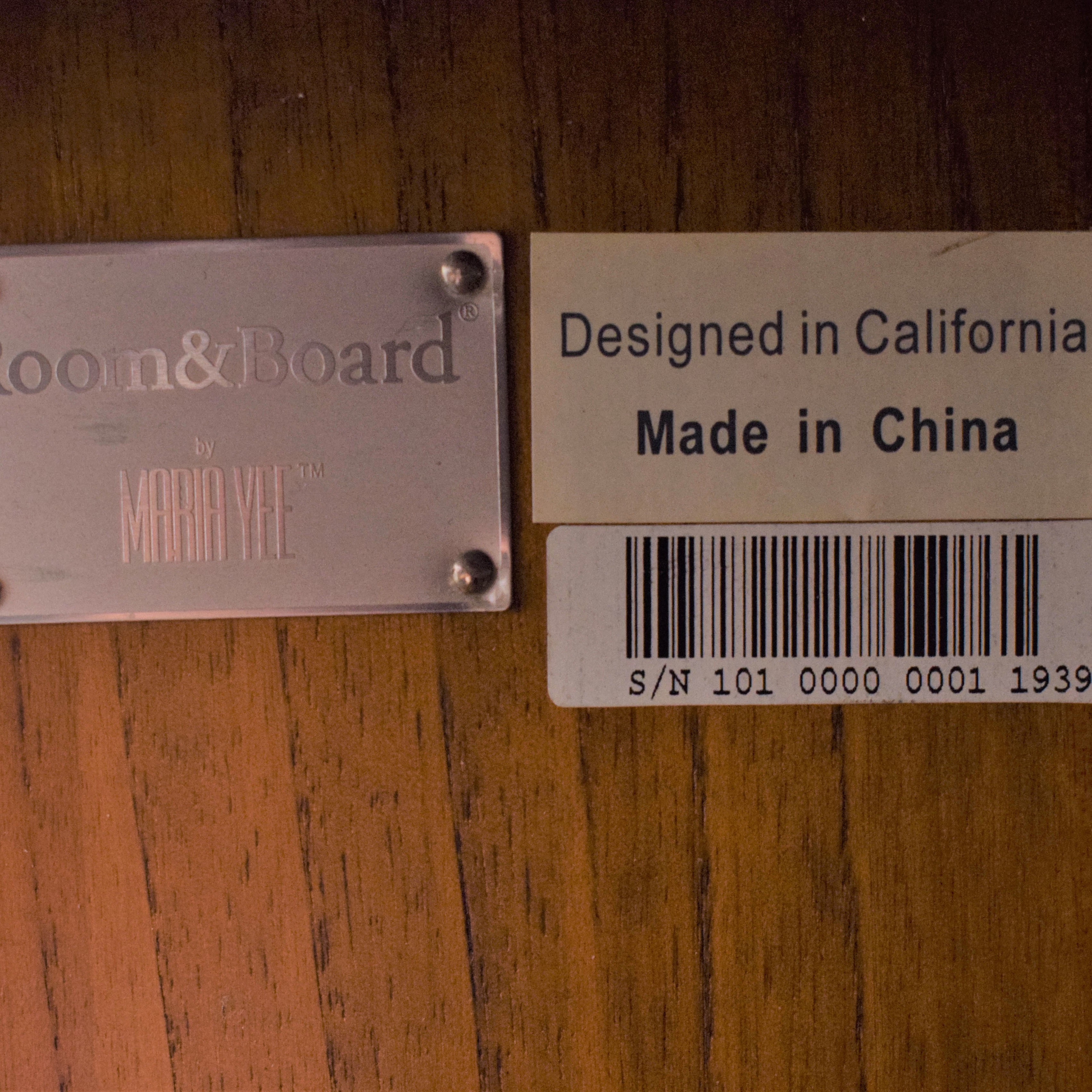 Room & Board by Maria Yee Media Cabinet / Storage