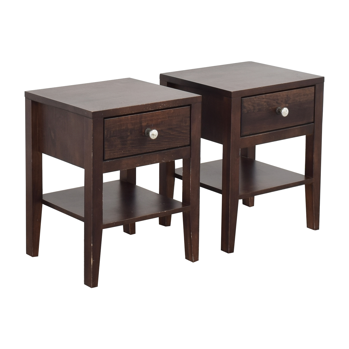 Room & Board Room & Board Calvin Single-Drawer End Tables second hand