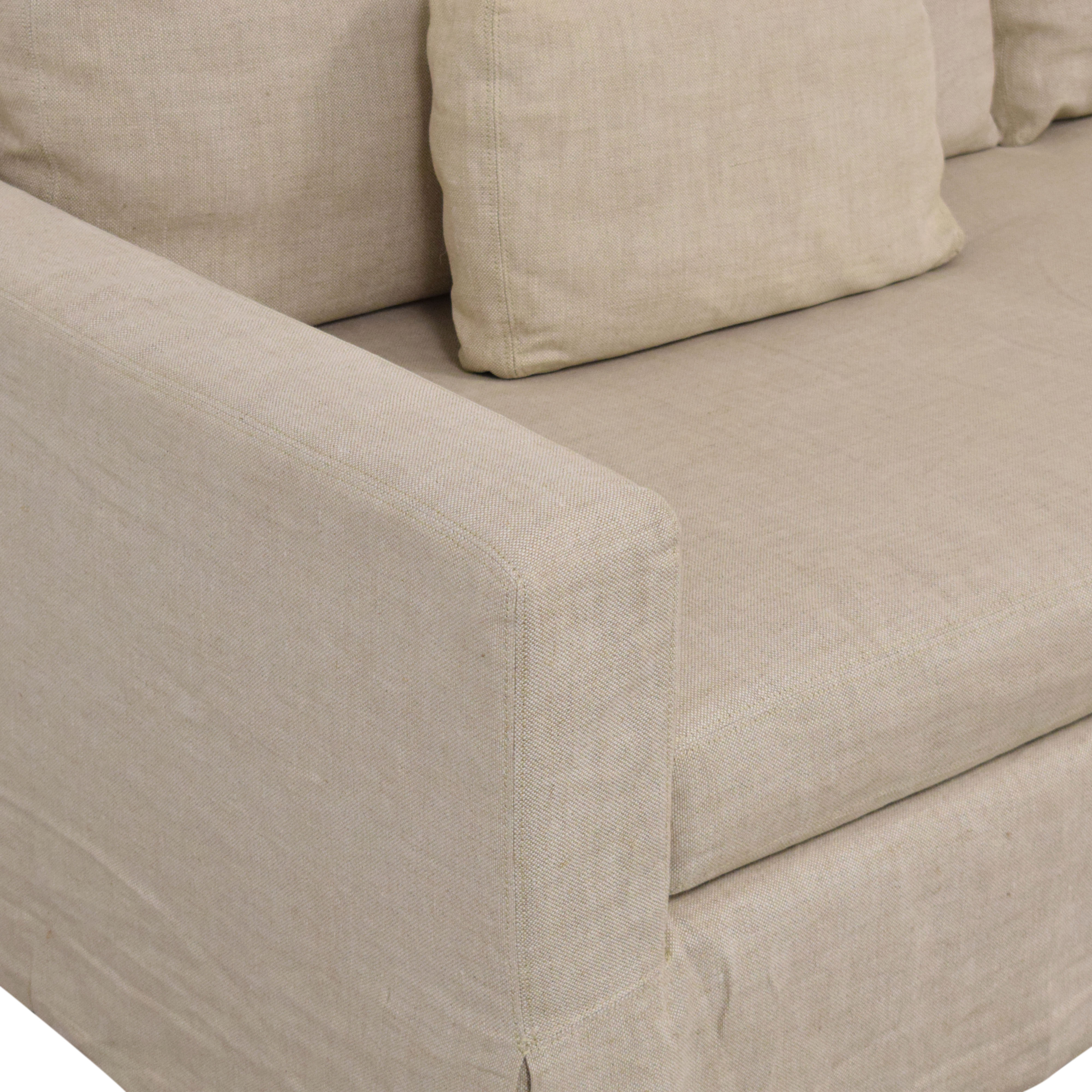 Restoration Hardware Restoration Hardware Belgian Track Arm Upholstered Sofa coupon