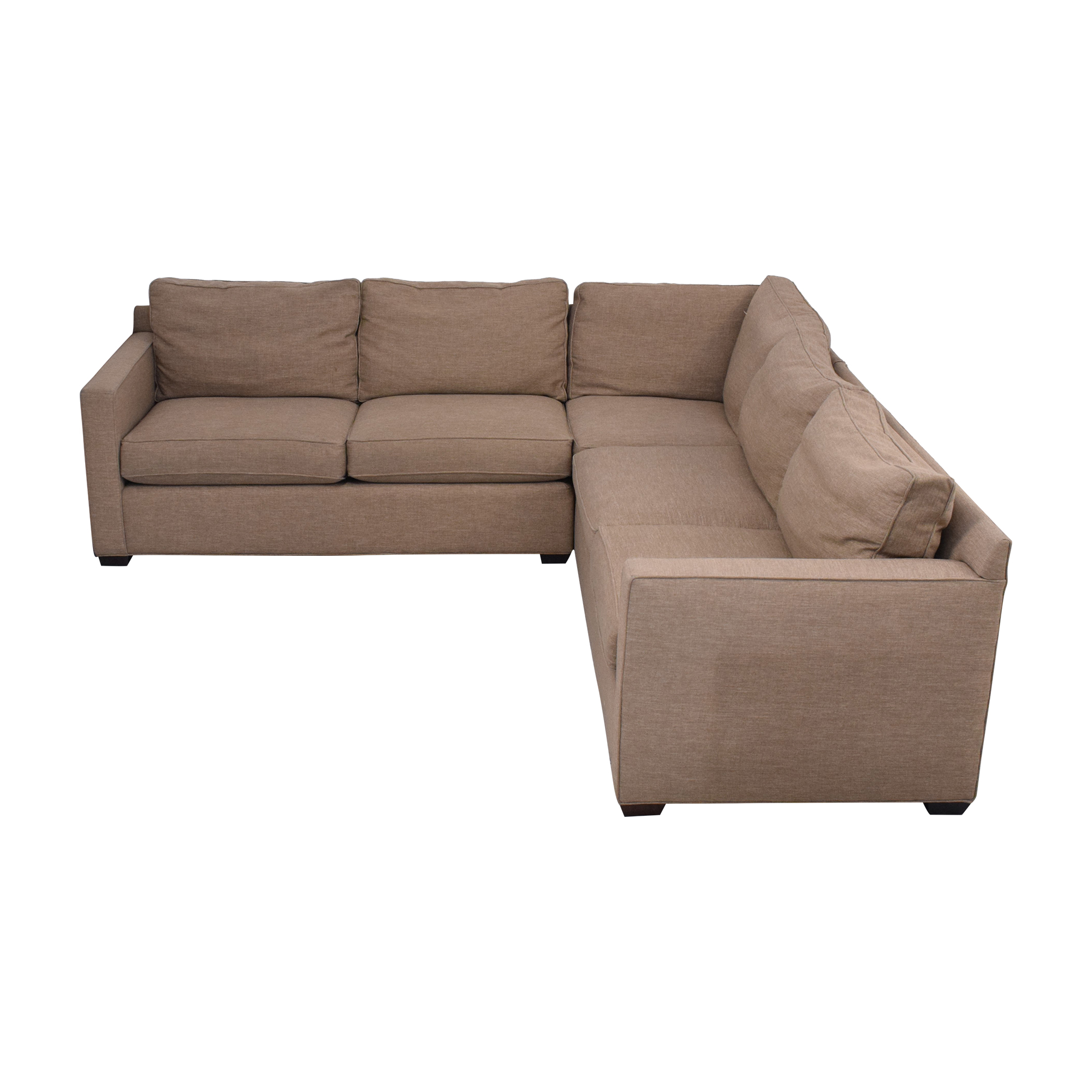 Crate & Barrel Crate & Barrel Davis Sectional Sofa pa