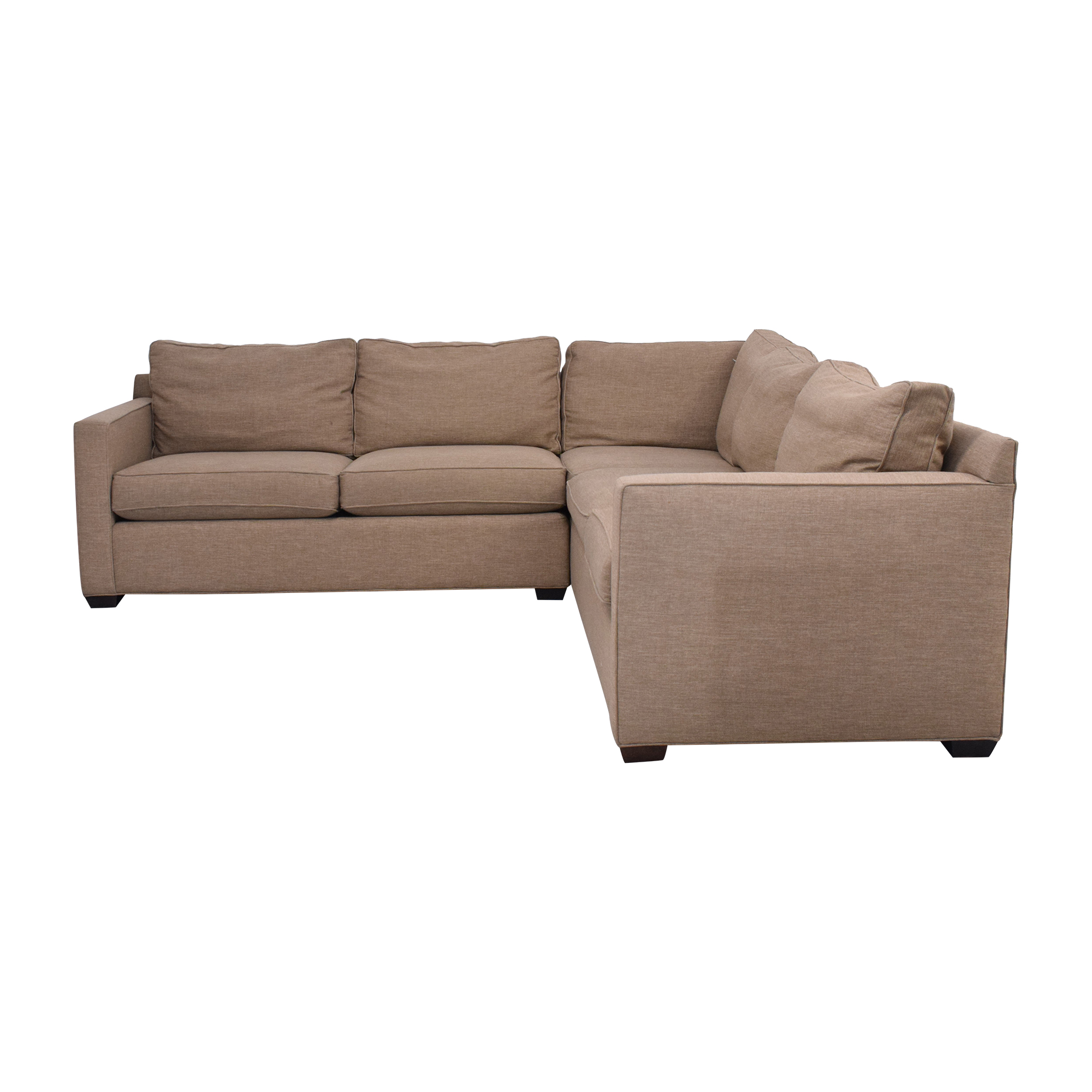 Crate & Barrel Crate & Barrel Davis Sectional Sofa for sale