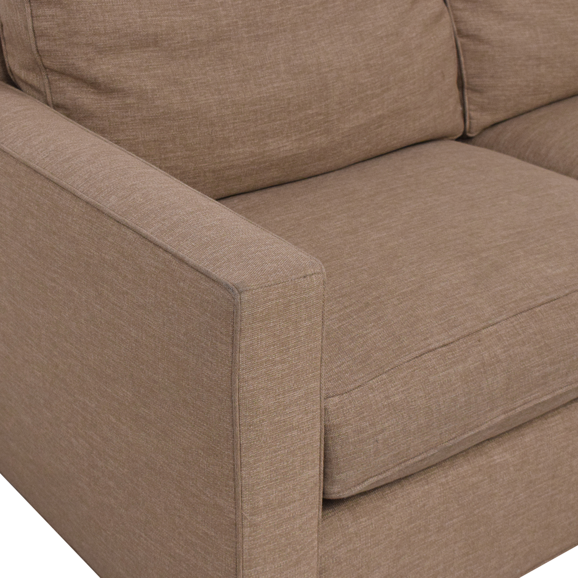 Crate & Barrel Davis Sectional Sofa / Sectionals
