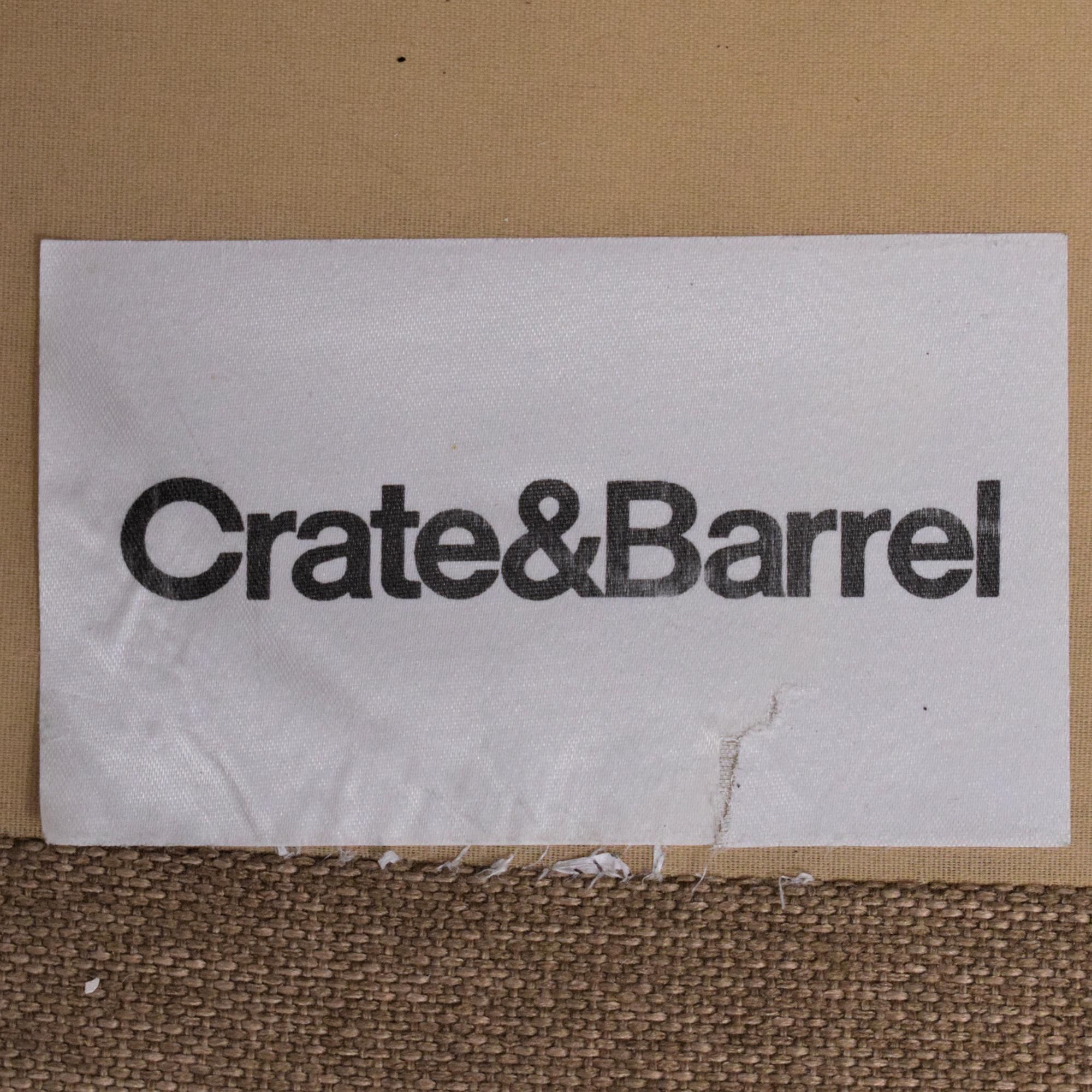 Crate & Barrel Crate & Barrel Davis Sectional Sofa price