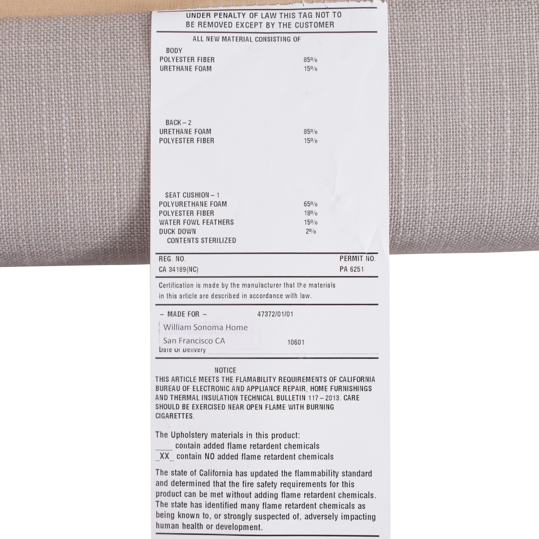 Williams Sonoma Williams Sonoma Yountville Sectional price