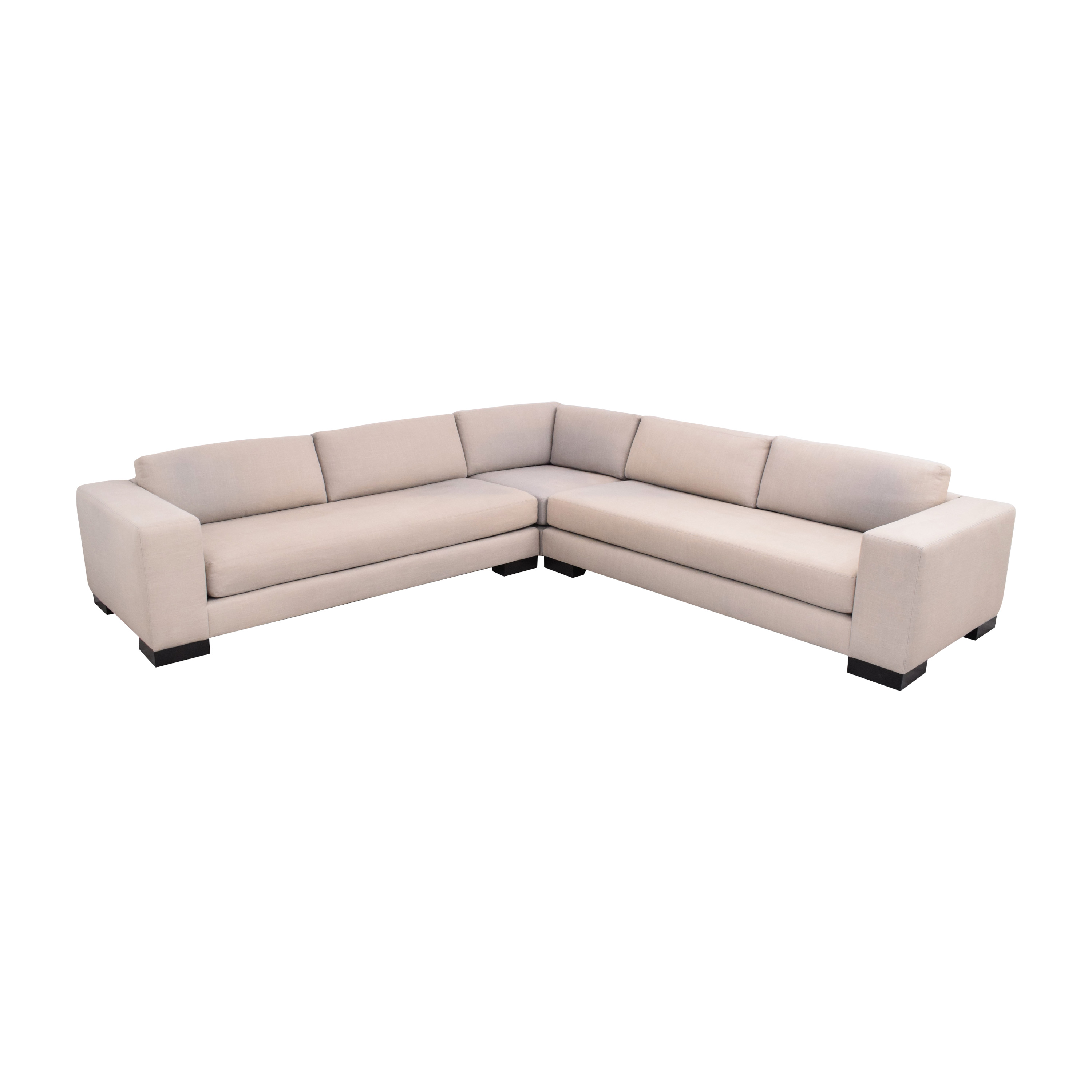 Williams Sonoma Williams Sonoma Yountville Sectional light grey