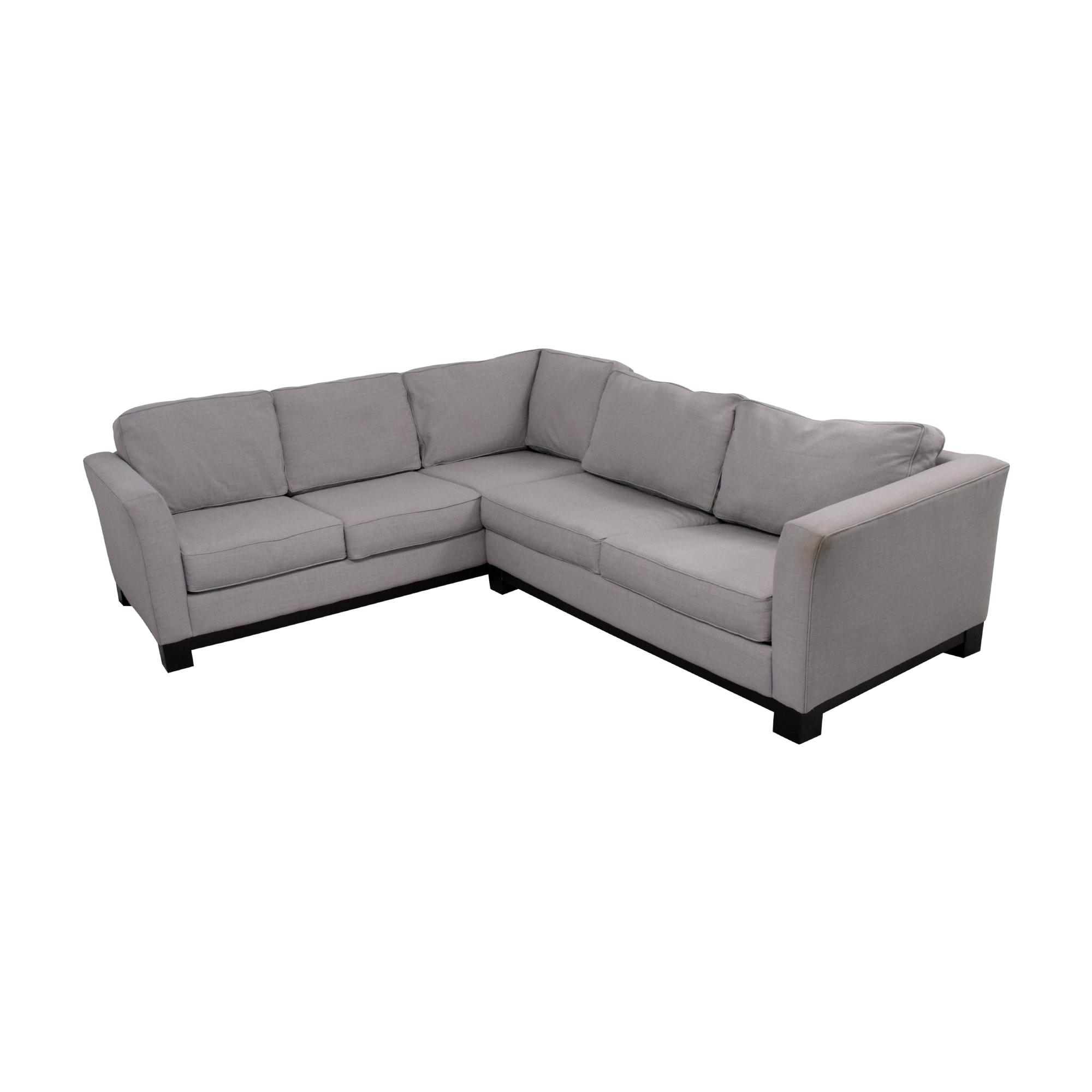 shop Macy's Elliot 2pc Sleeper Sofa Sectional Macy's Sectionals