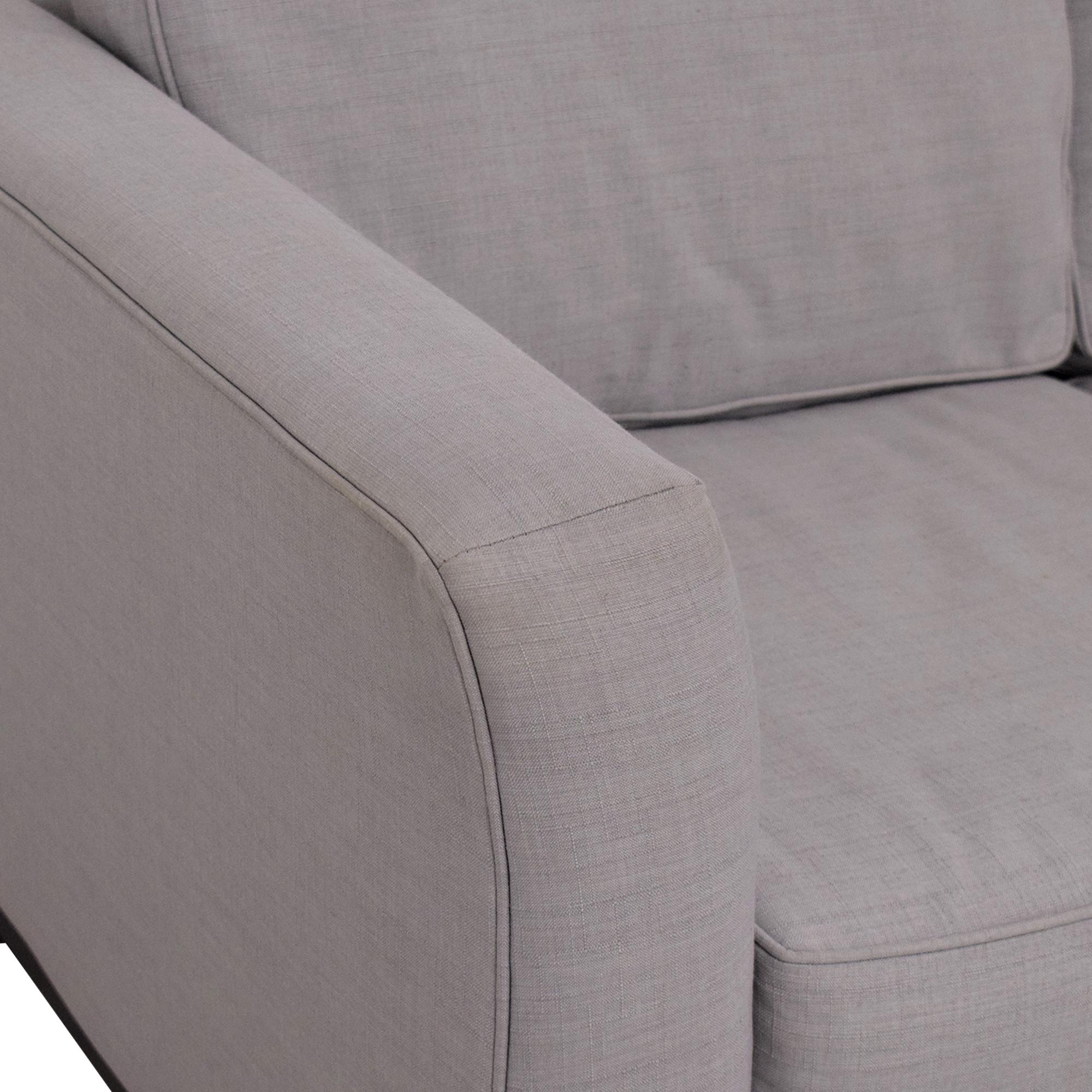 Macy's Macy's Elliot 2pc Sleeper Sofa Sectional pa