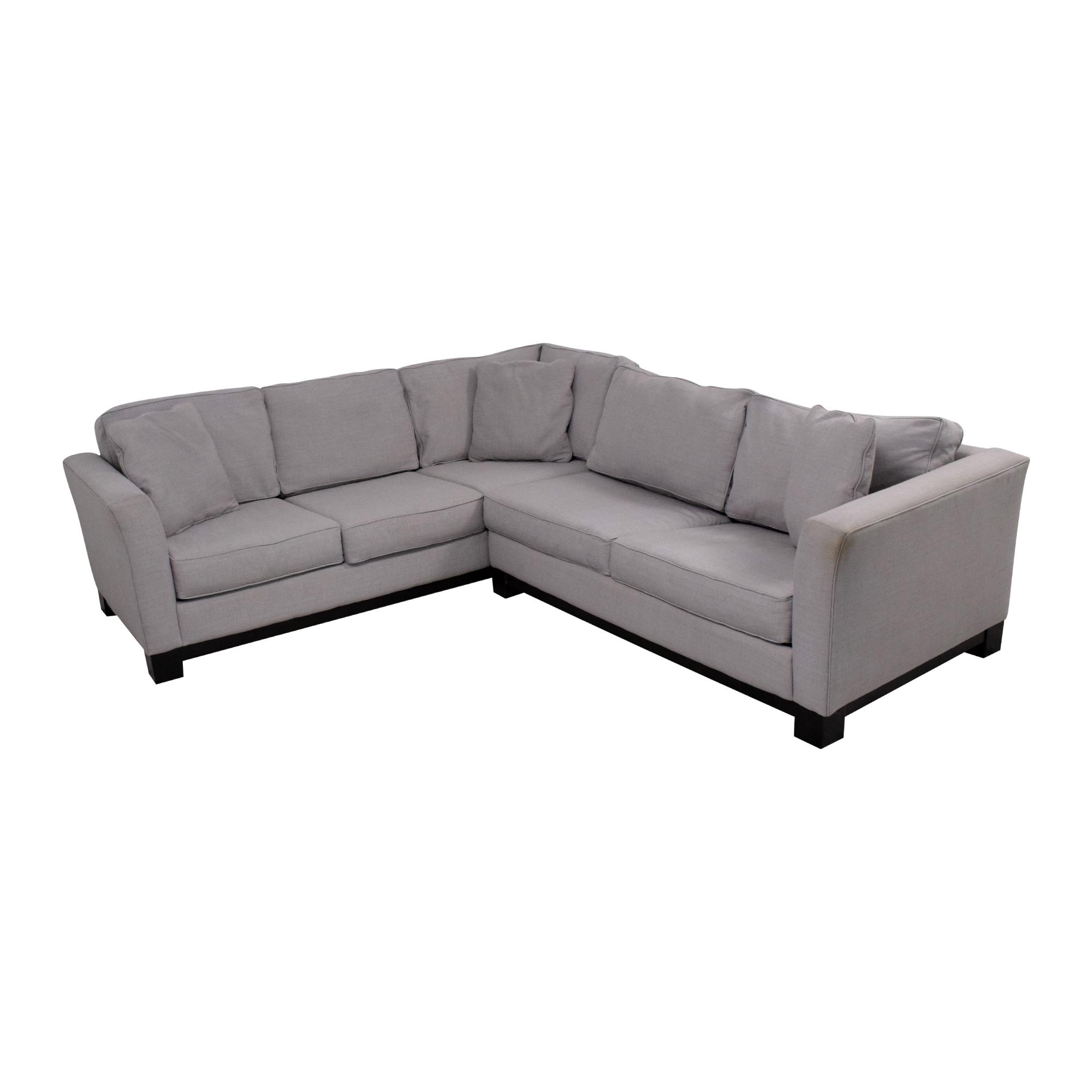 shop Macy's Macy's Elliot 2pc Sleeper Sofa Sectional online