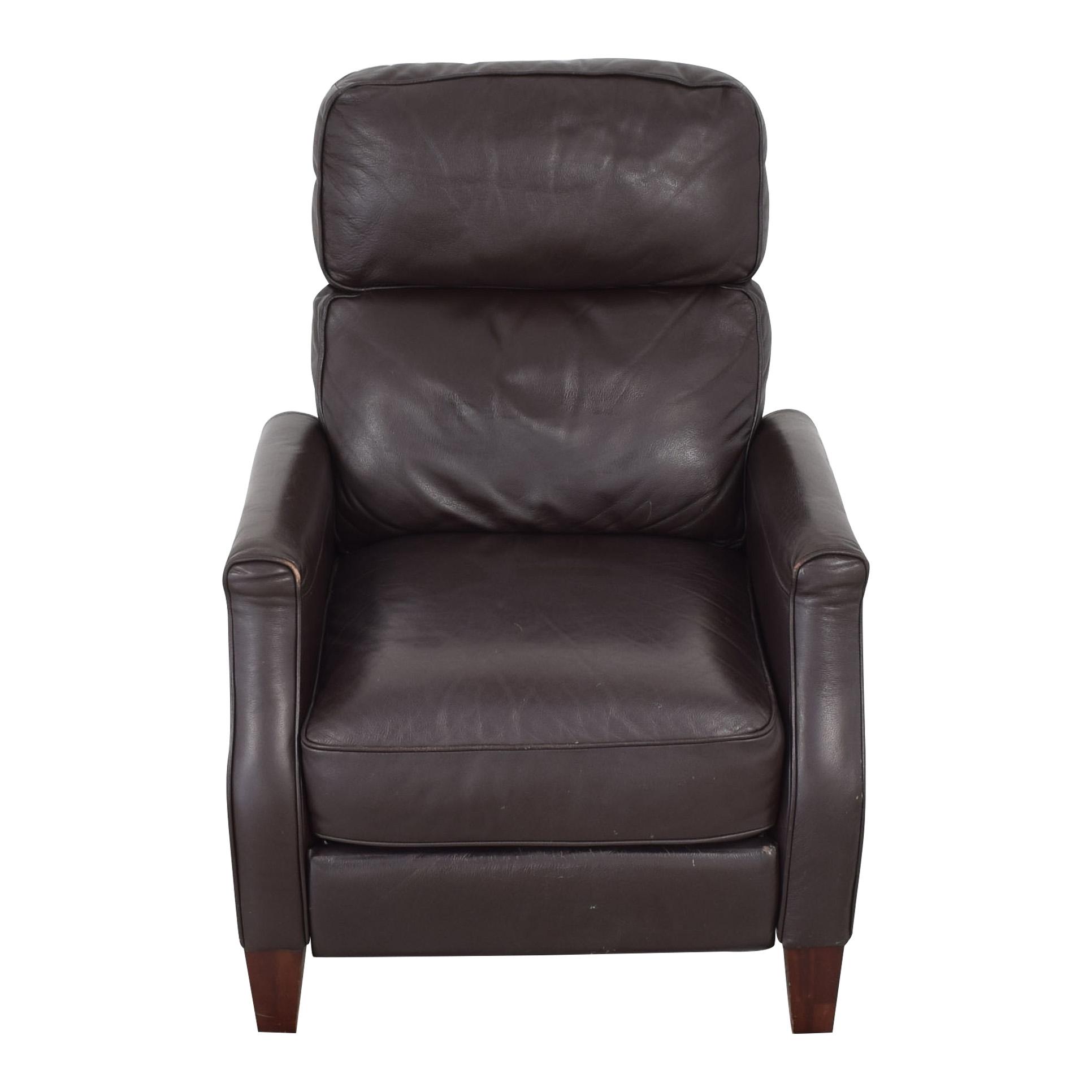 buy Macy's Macy's Leather Recliner Armchair online