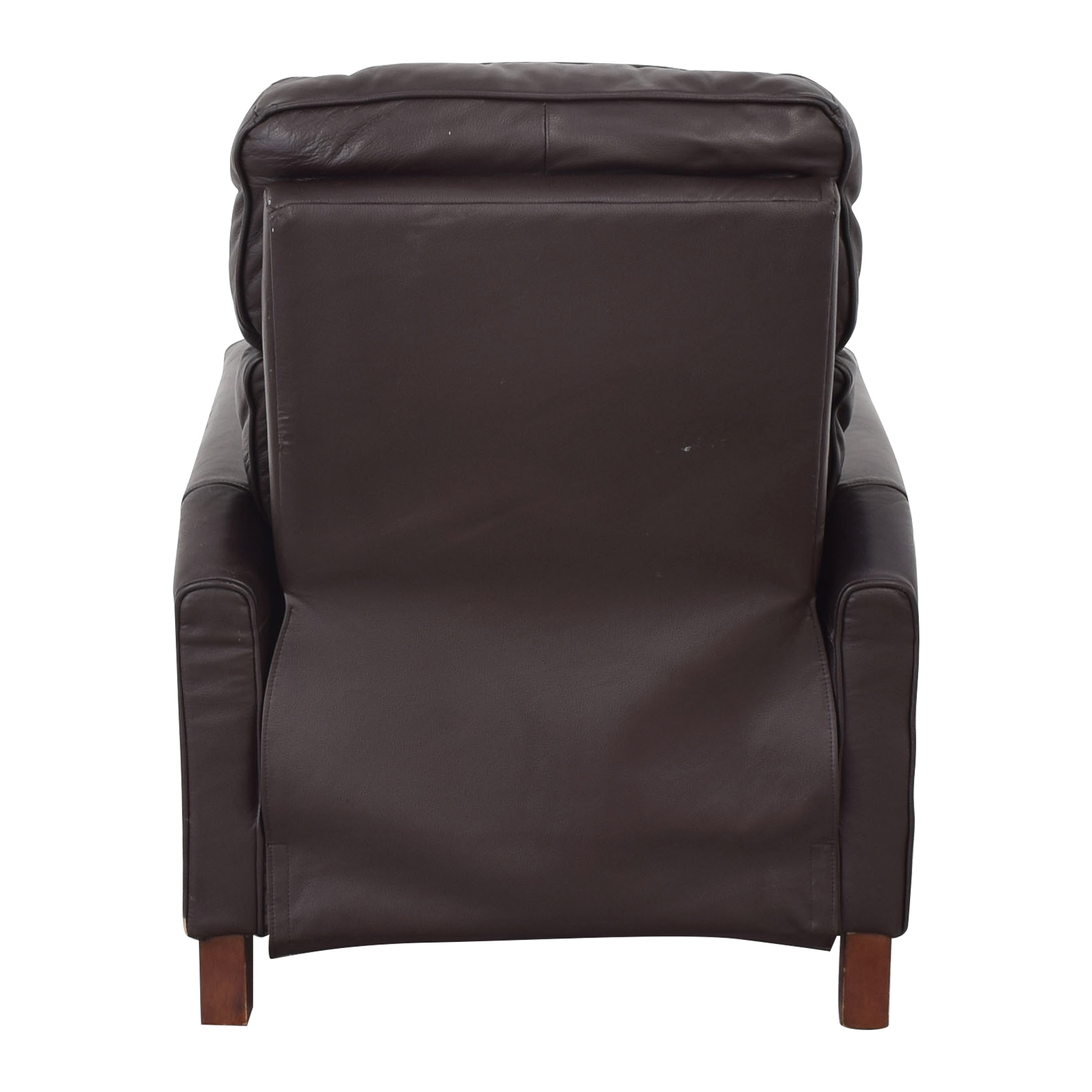 Macy's Leather Recliner Armchair / Recliners