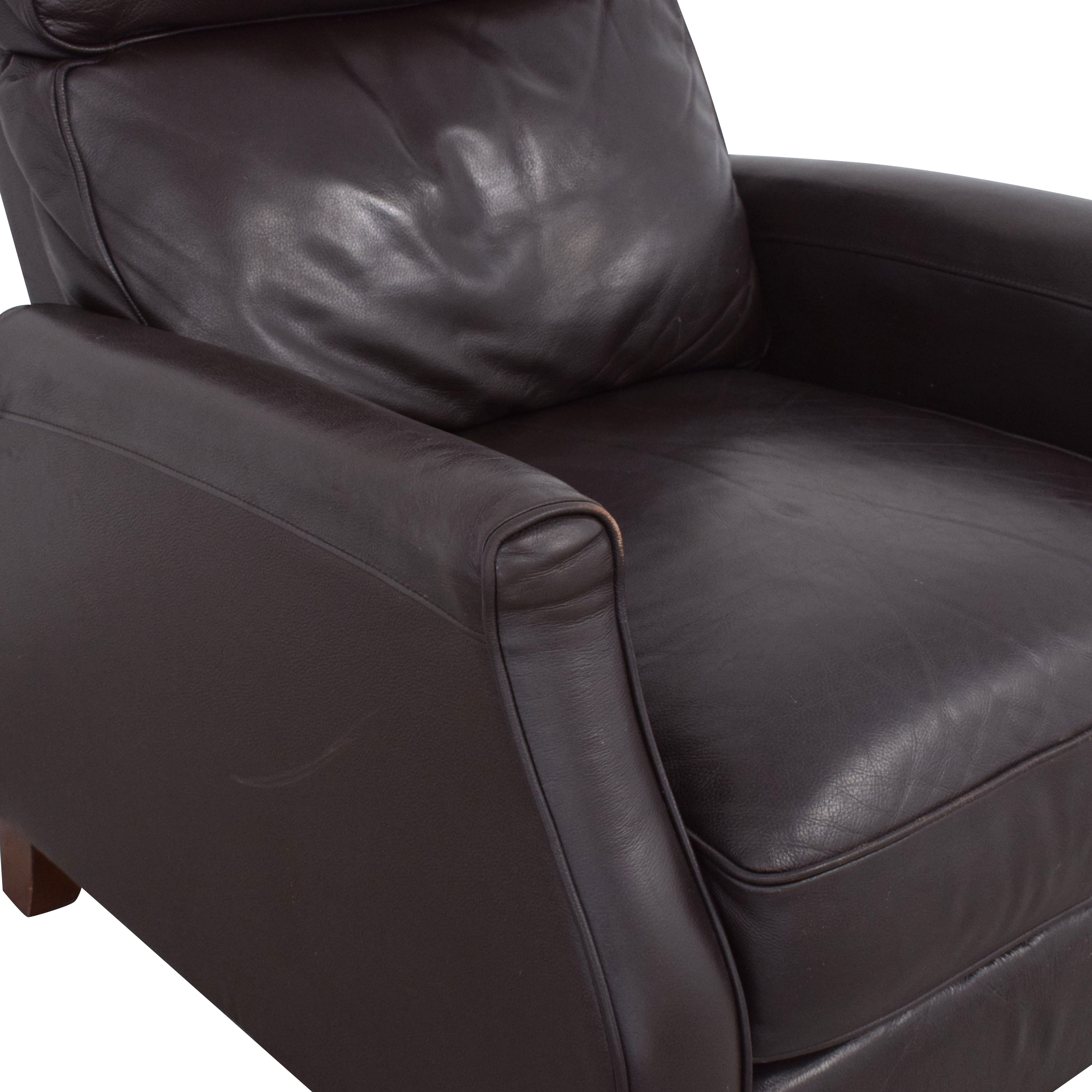 Macy's Macy's Leather Recliner Armchair pa