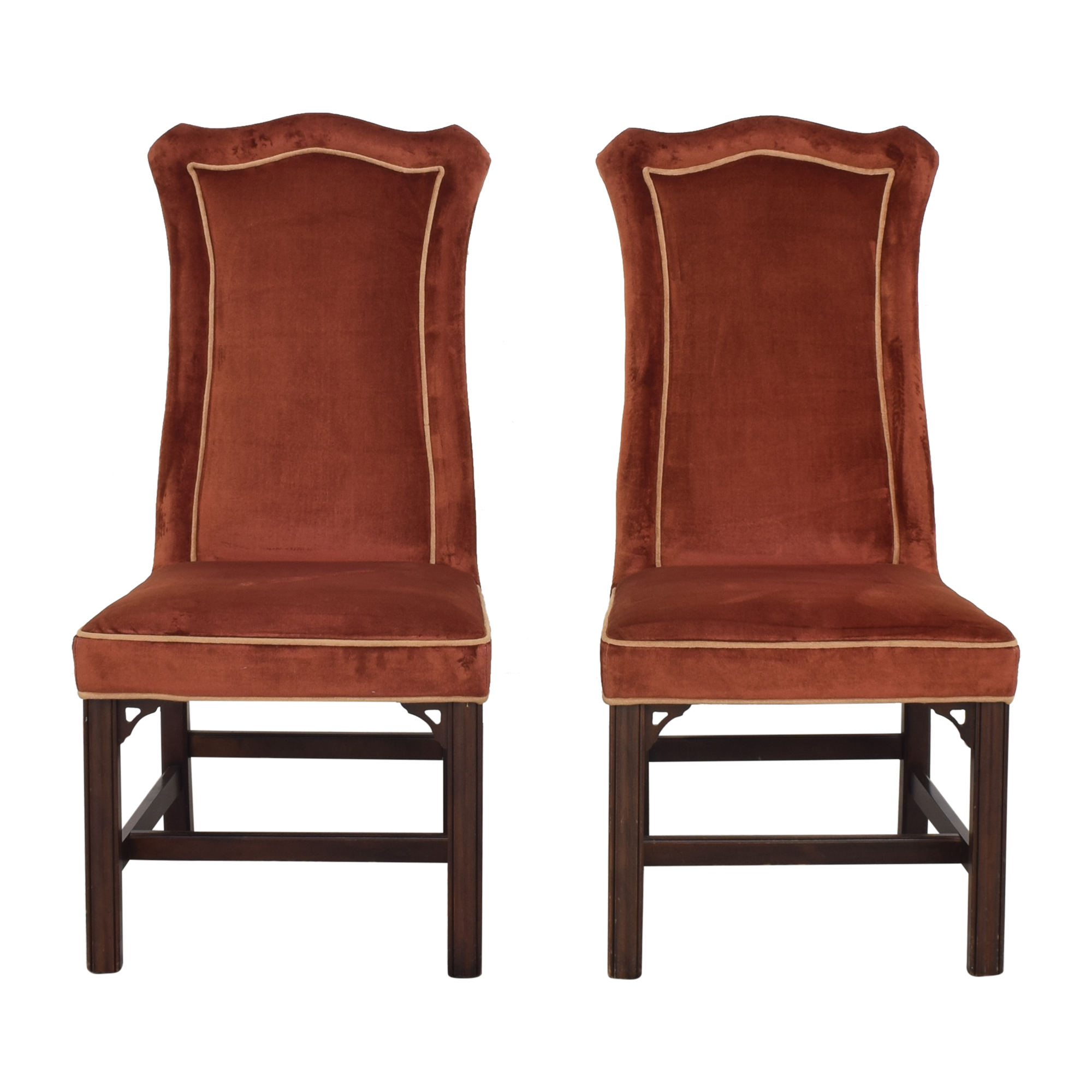 shop Ethan Allen Traditional Classics Upholstered Dining Chairs Ethan Allen Chairs