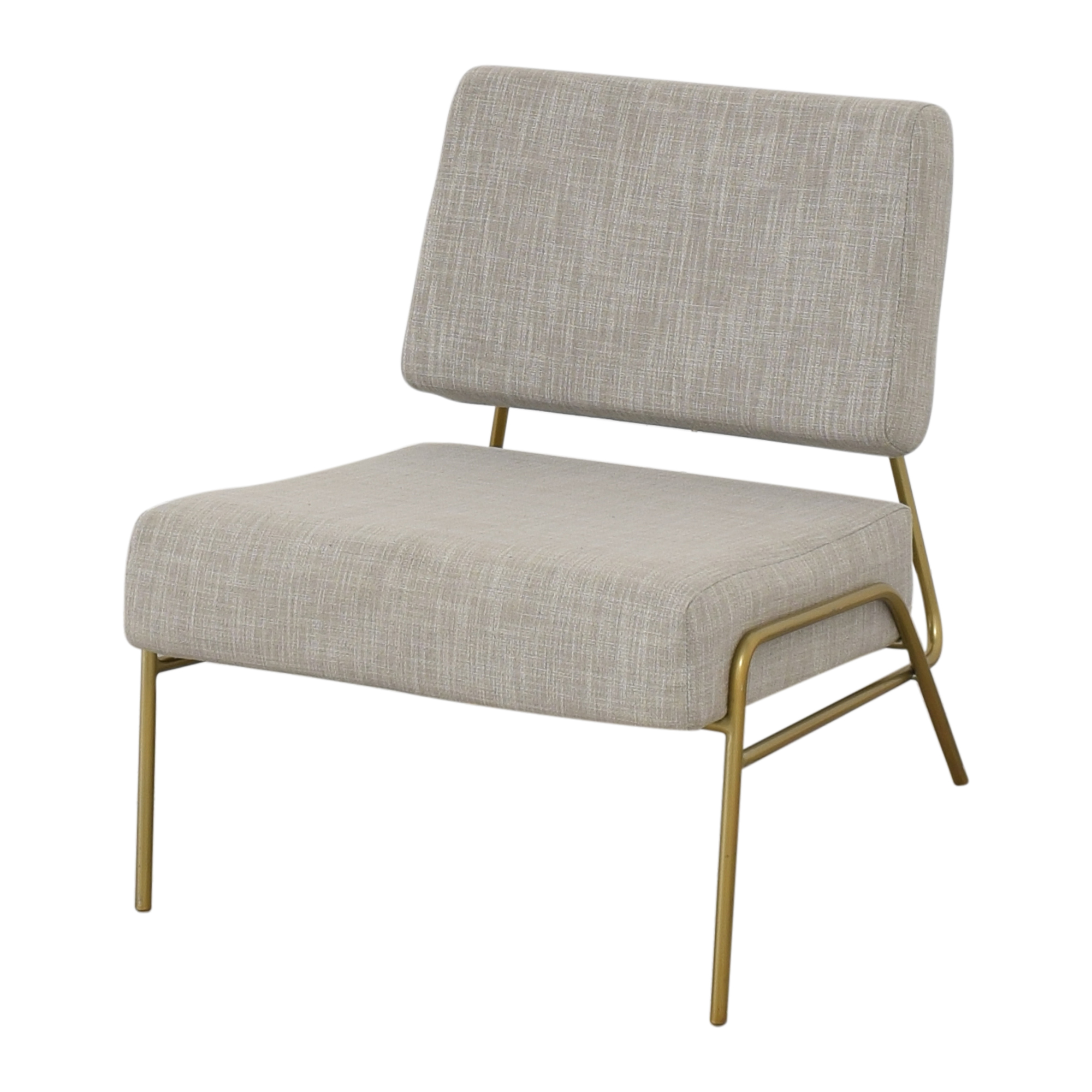 West Elm West Elm Wire Frame Slipper Chair on sale