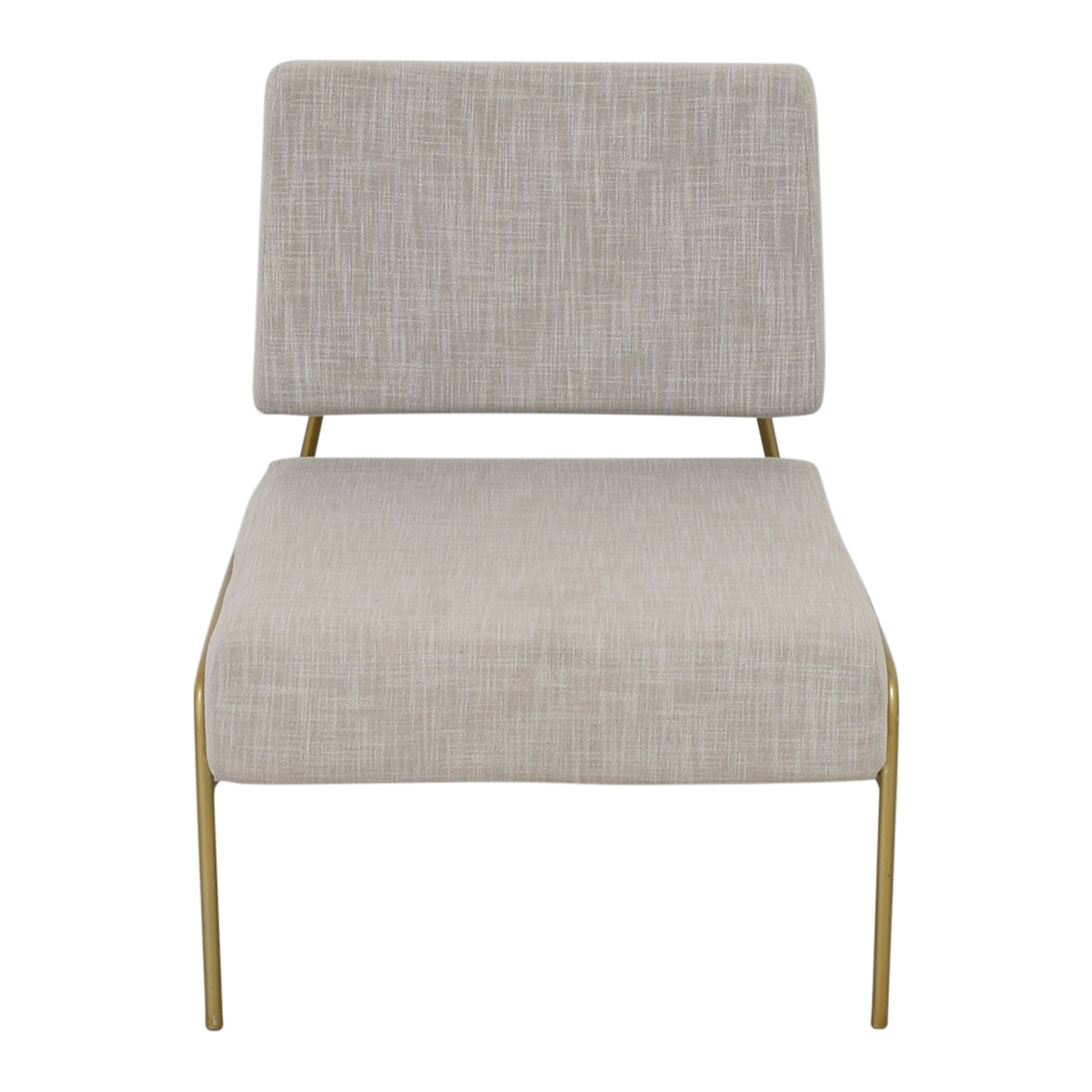 West Elm Wire Frame Slipper Chair / Accent Chairs