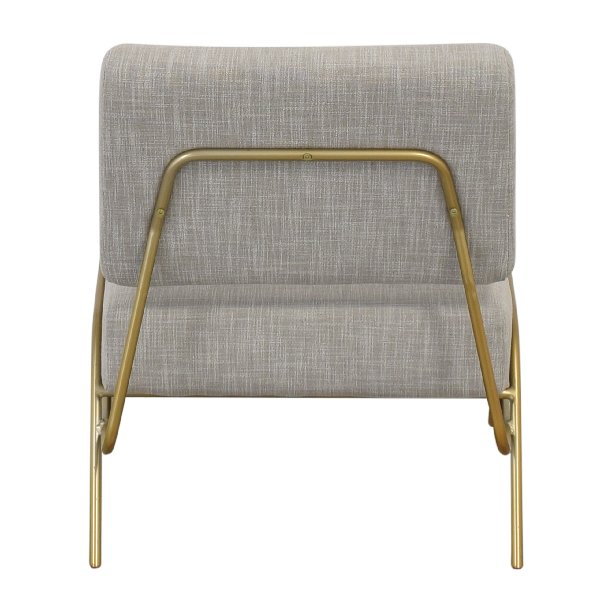 shop West Elm Wire Frame Slipper Chair West Elm Accent Chairs