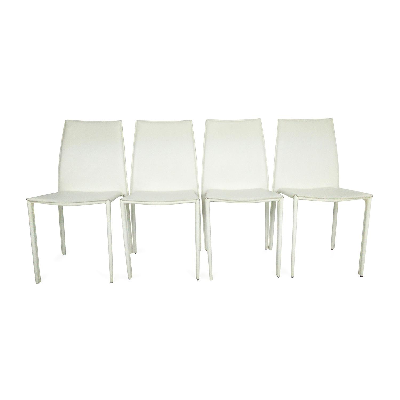 Awe Inspiring 63 Off Allmodern All Modern 4 Dining Chairs Chairs Evergreenethics Interior Chair Design Evergreenethicsorg