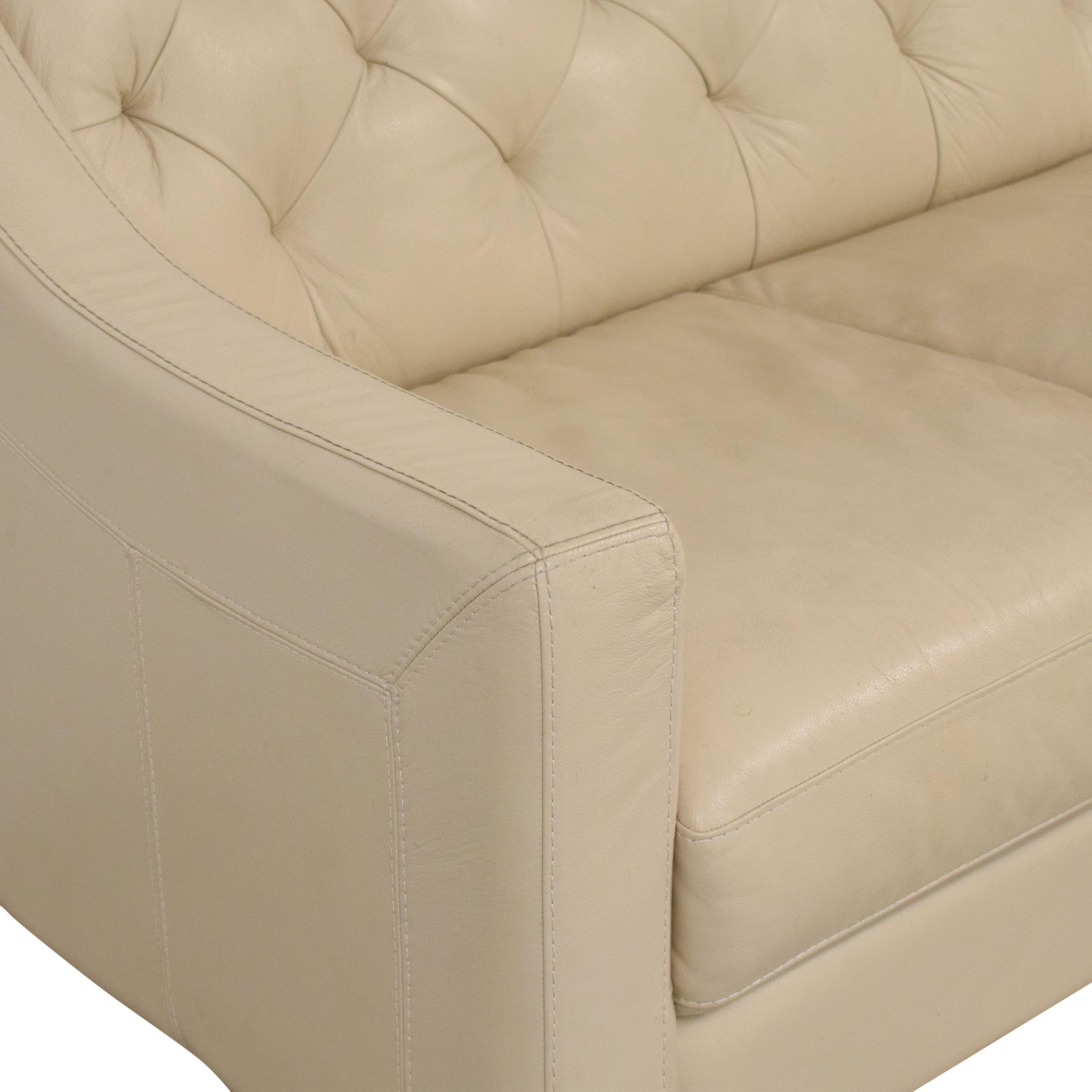 Chateau d'Ax Slope Arm Tufted Sofa / Sofas