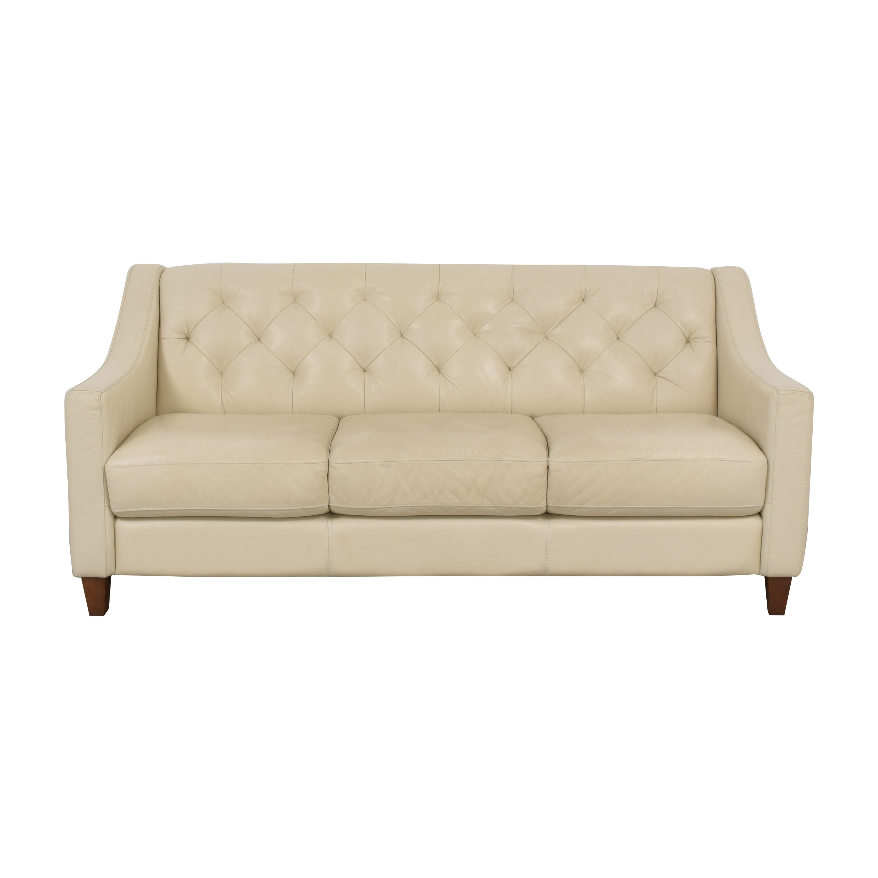 Chateau d'Ax Chateau d'Ax Slope Arm Tufted Sofa off white