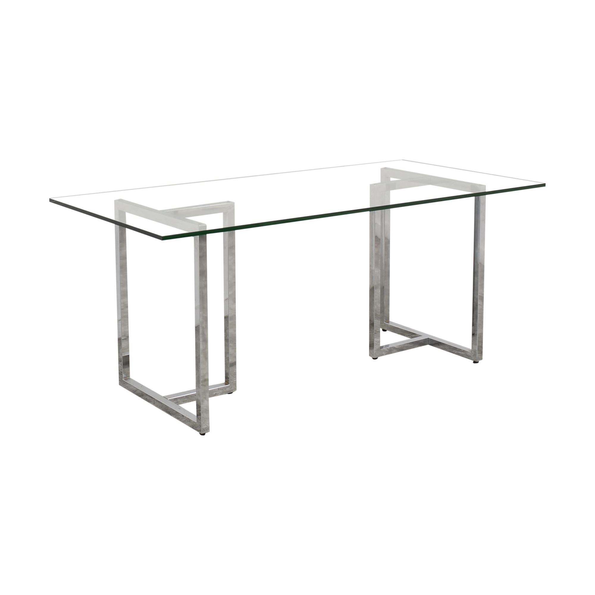 buy CB2 Silverado Rectangular Dining Table CB2