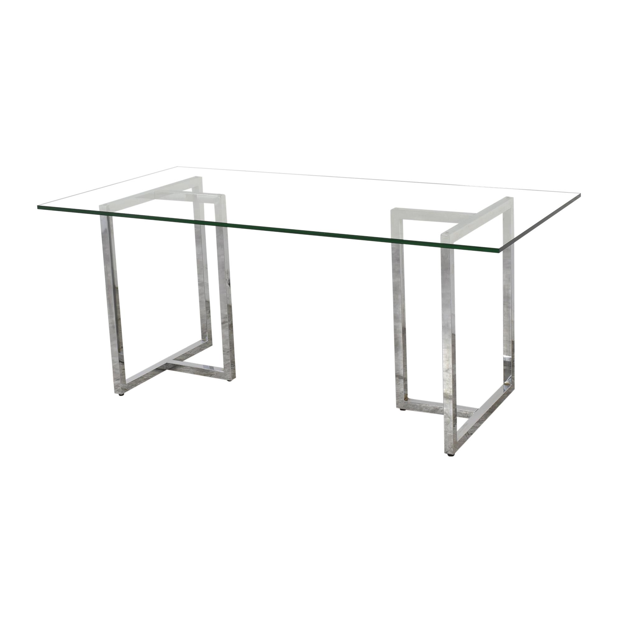 CB2 CB2 Silverado Rectangular Dining Table discount