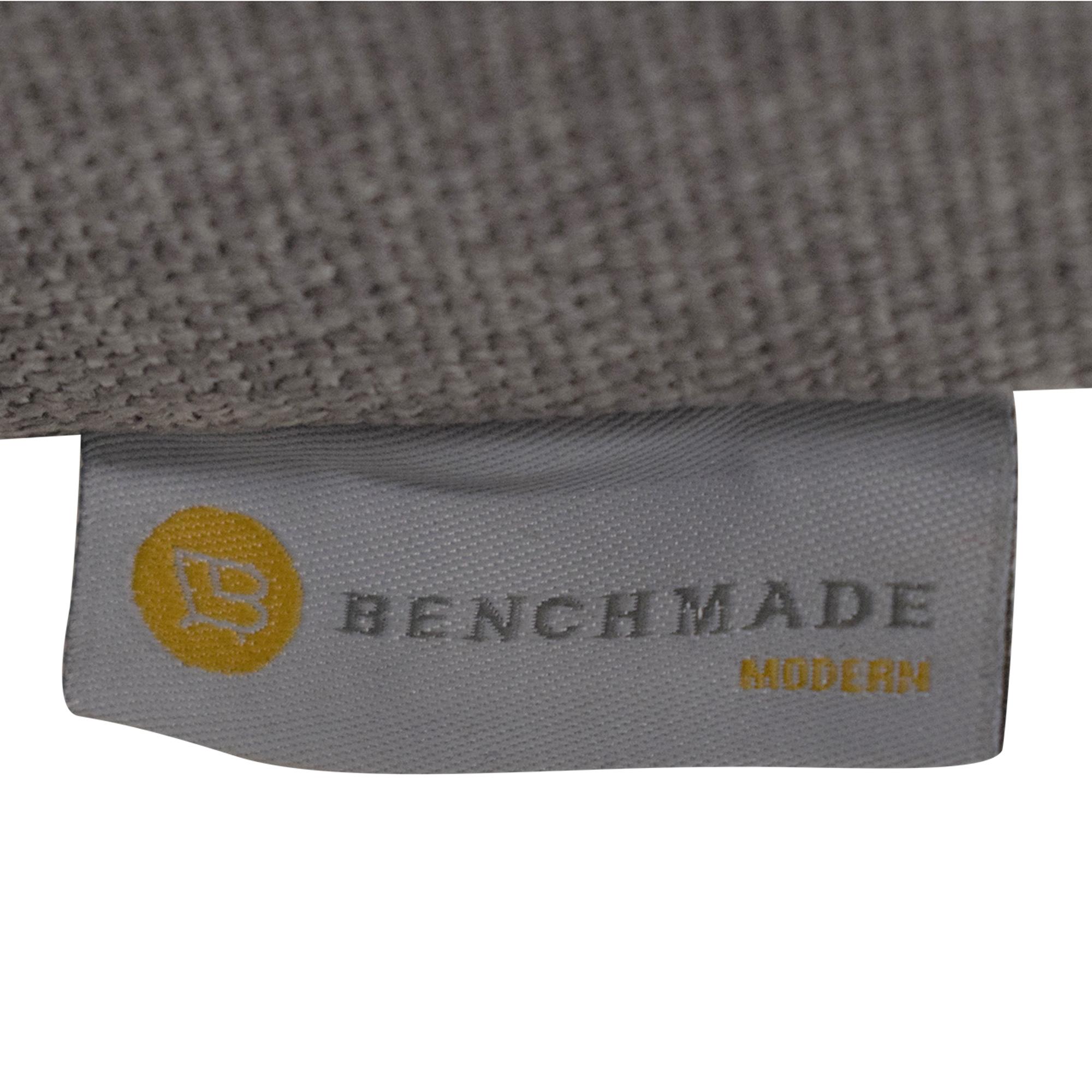 BenchMade Modern BenchMade Modern Skinny Fat Sofa with Bumper