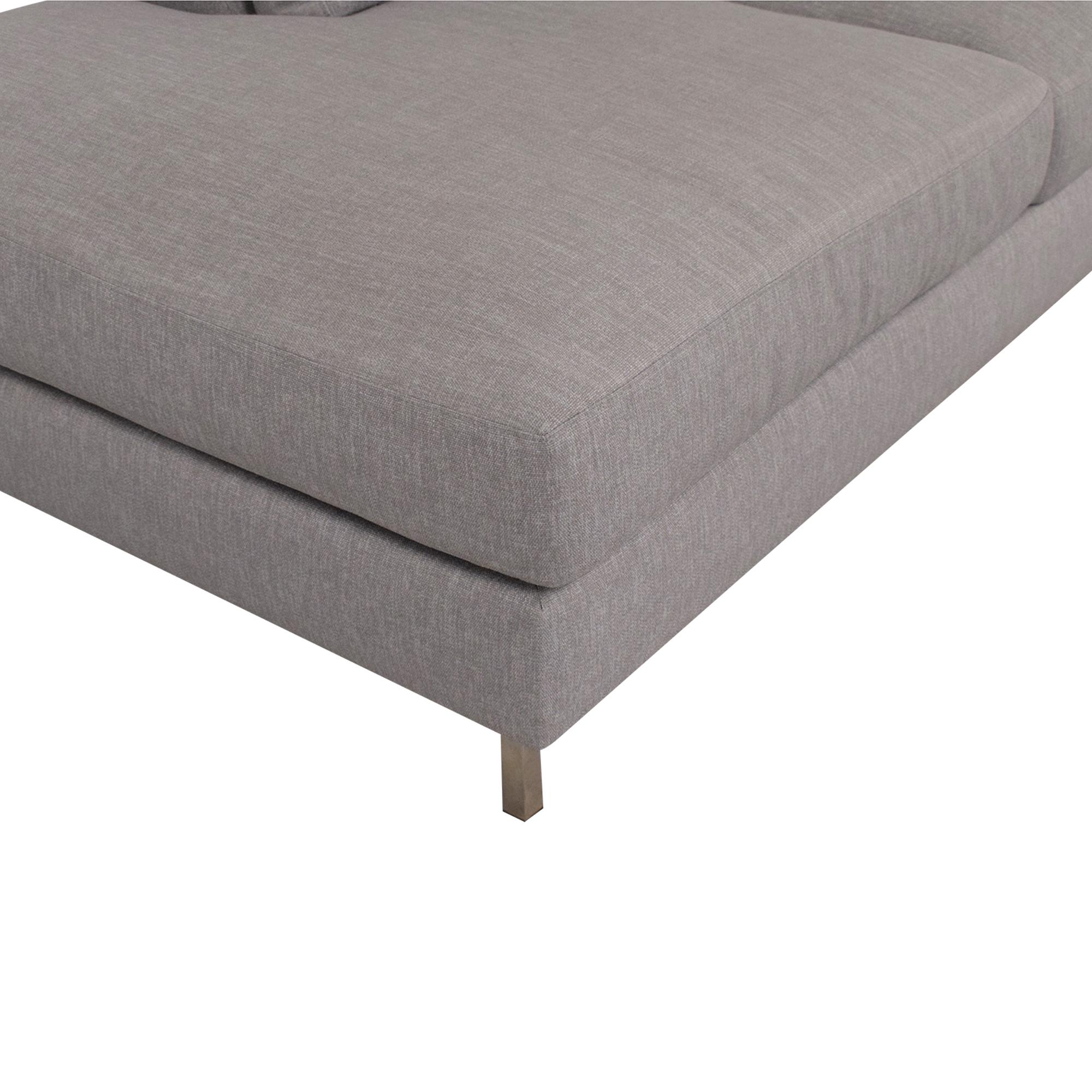 BenchMade Modern BenchMade Modern Skinny Fat Sofa with Bumper nj