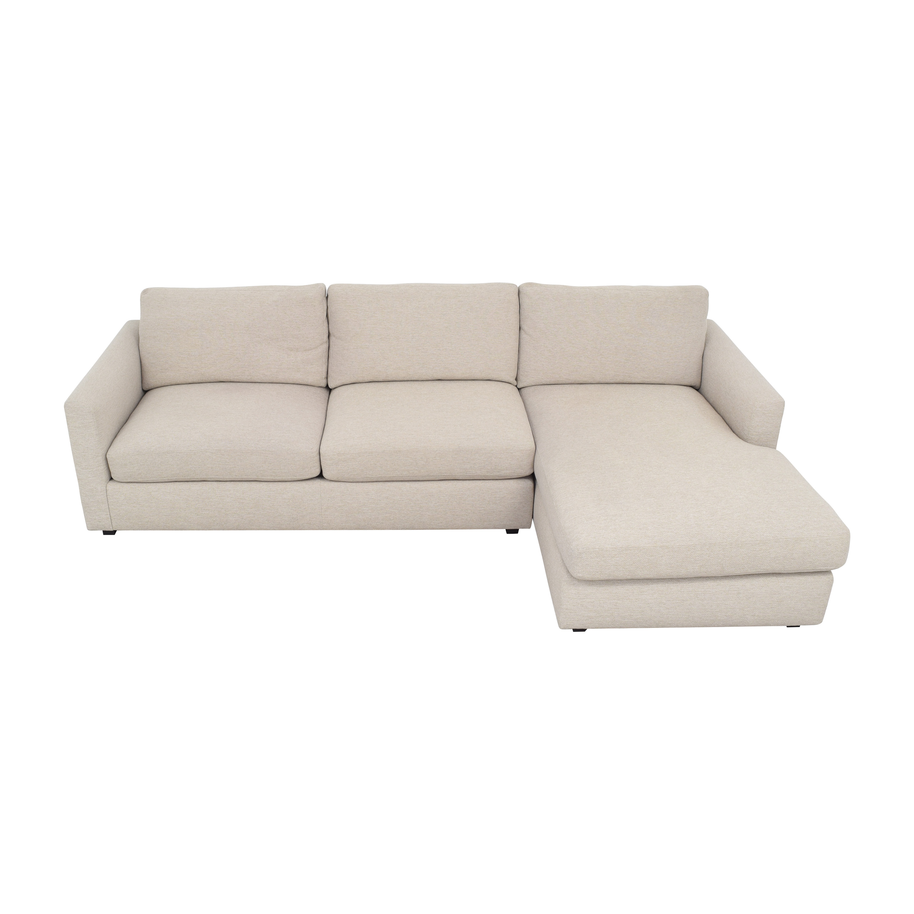 buy Room & Board Ian Sofa with Chaise Room & Board Sectionals
