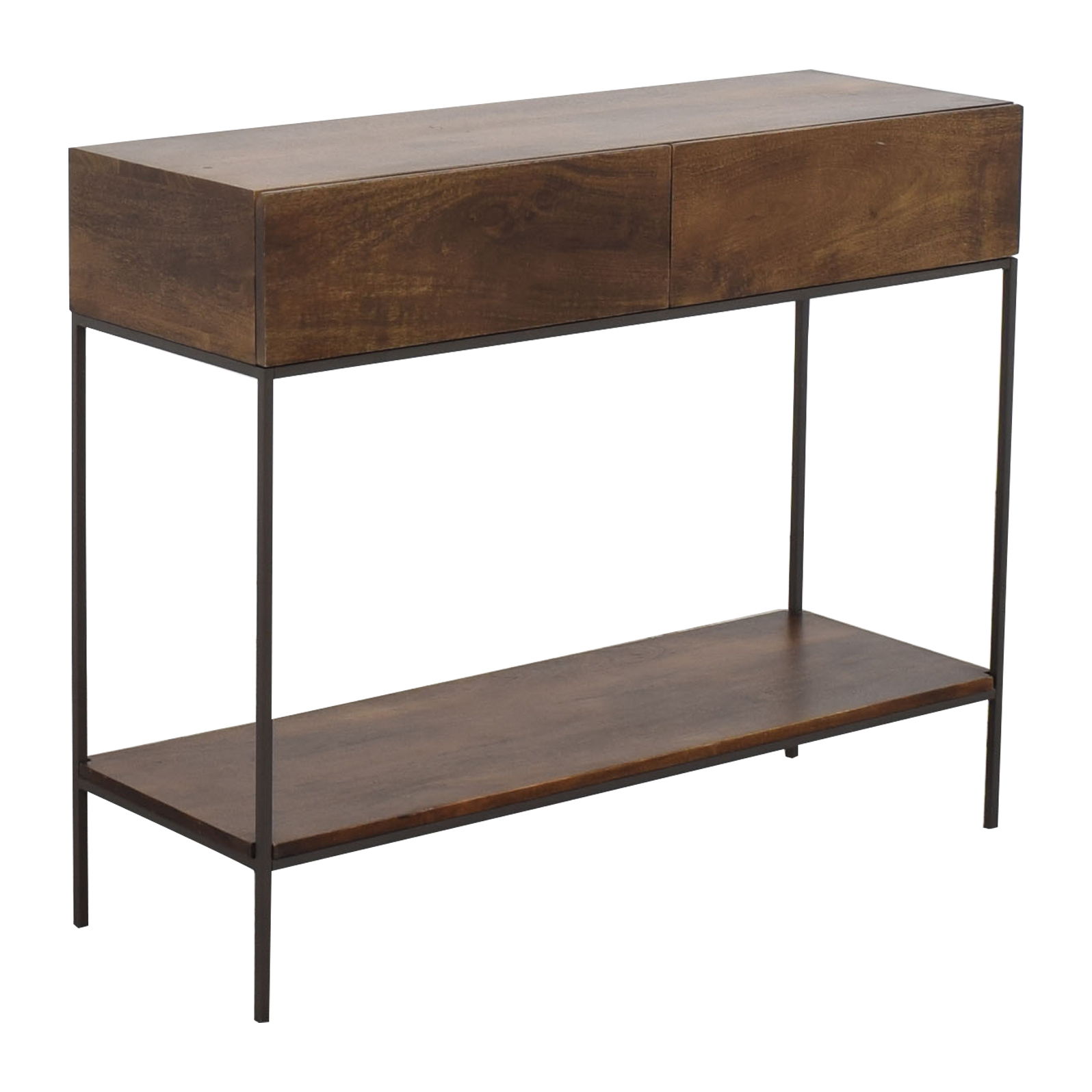 West Elm West Elm Industrial Storage Console for sale