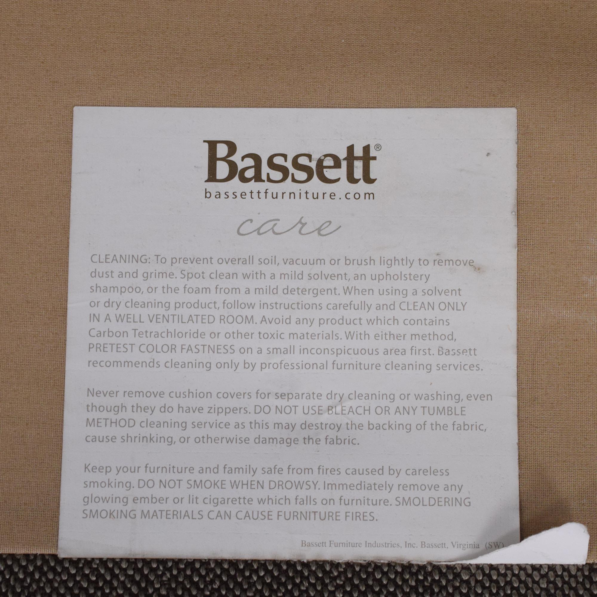 Bassett Furniture Bassett Furniture CU2 Sofa Sofas