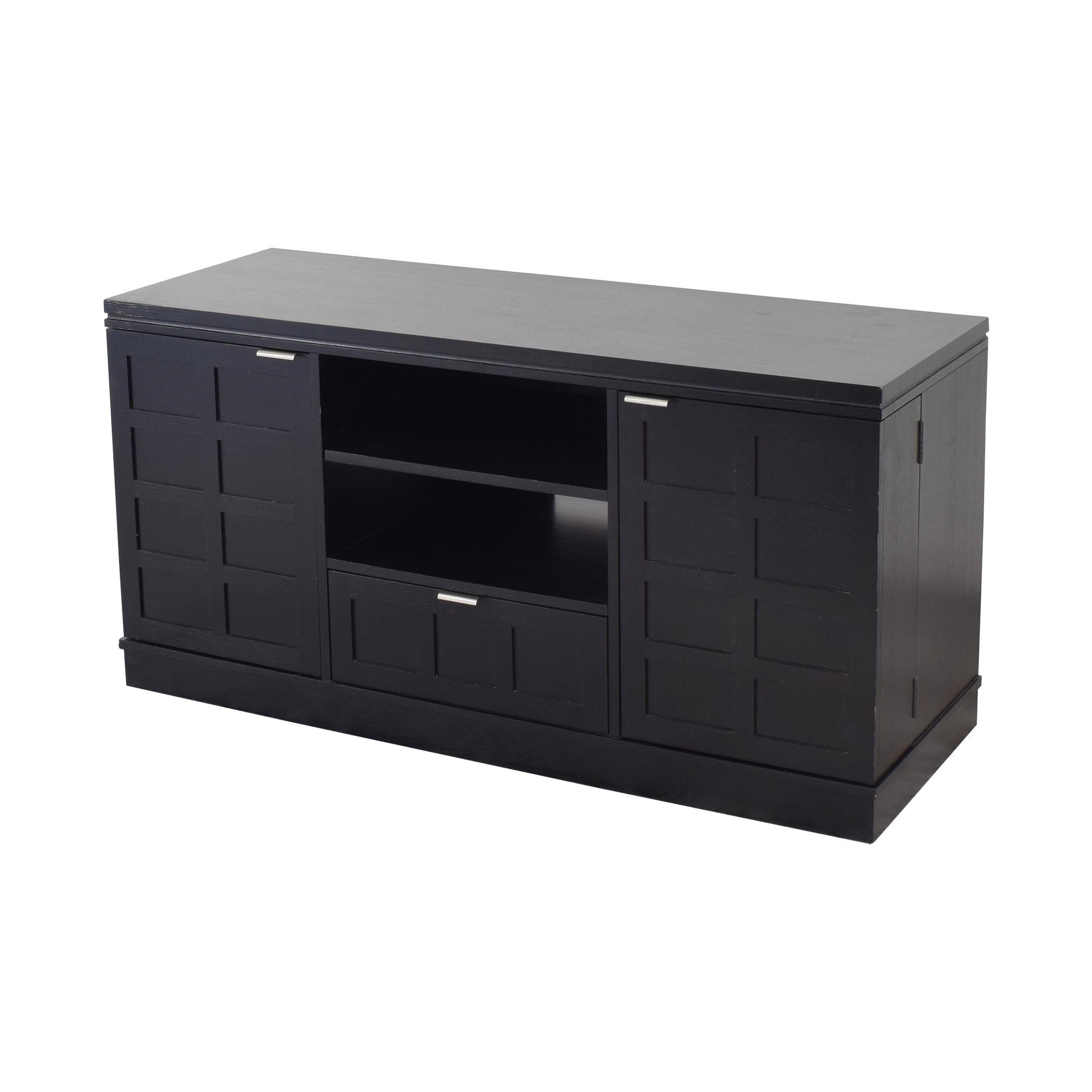 Crate & Barrel Crate & Barrel Wood Media Console ct