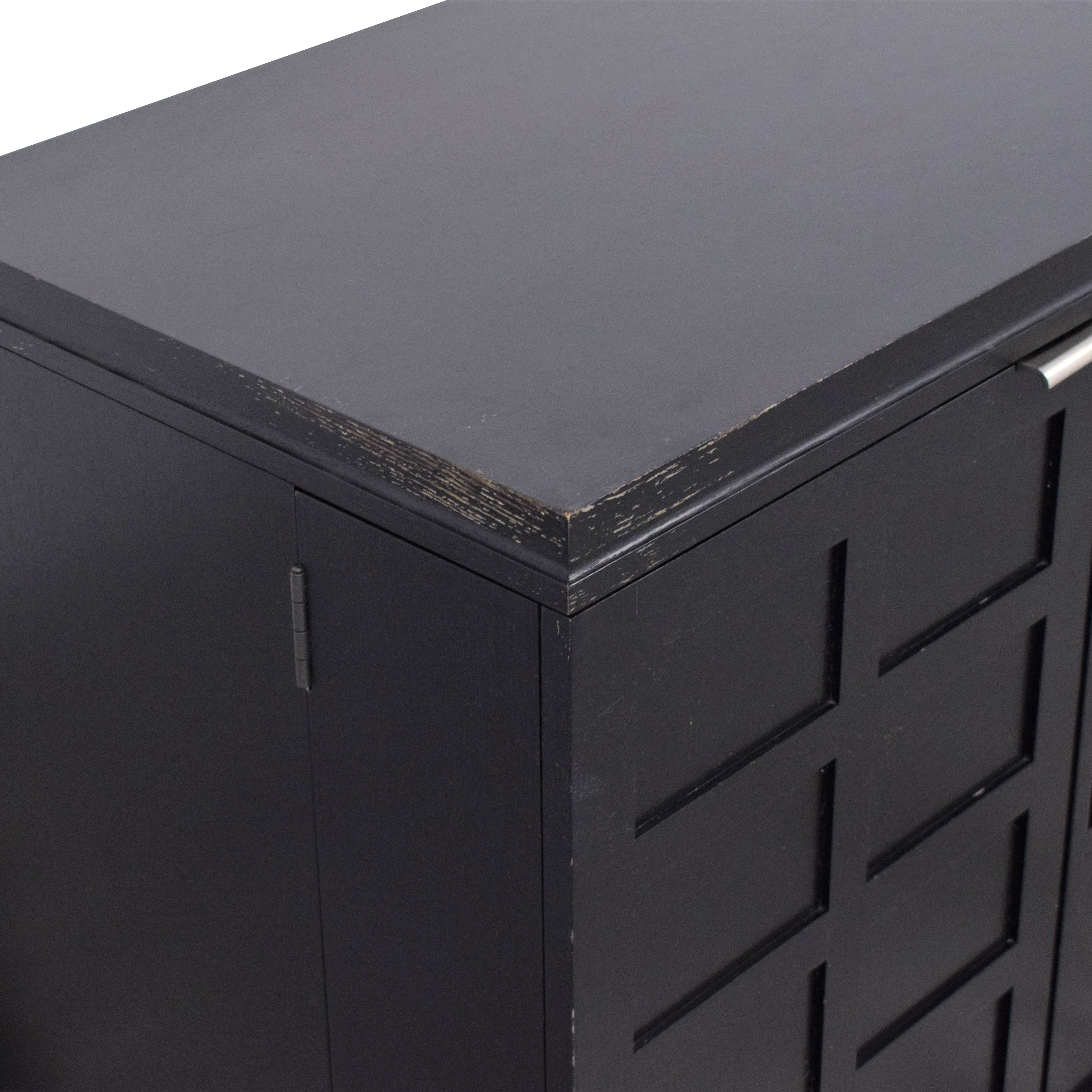 Crate & Barrel Crate & Barrel Wood Media Console for sale