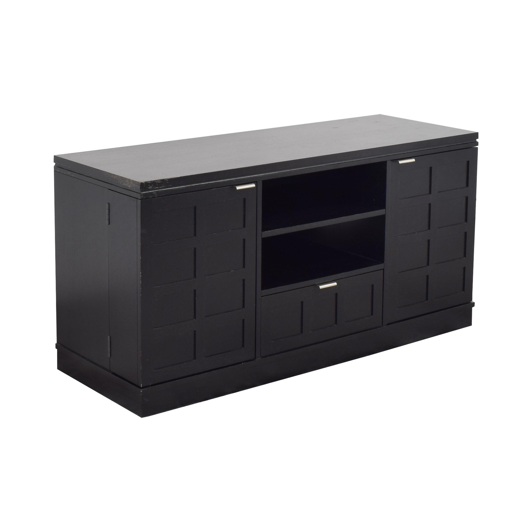 Crate & Barrel Crate & Barrel Wood Media Console ma