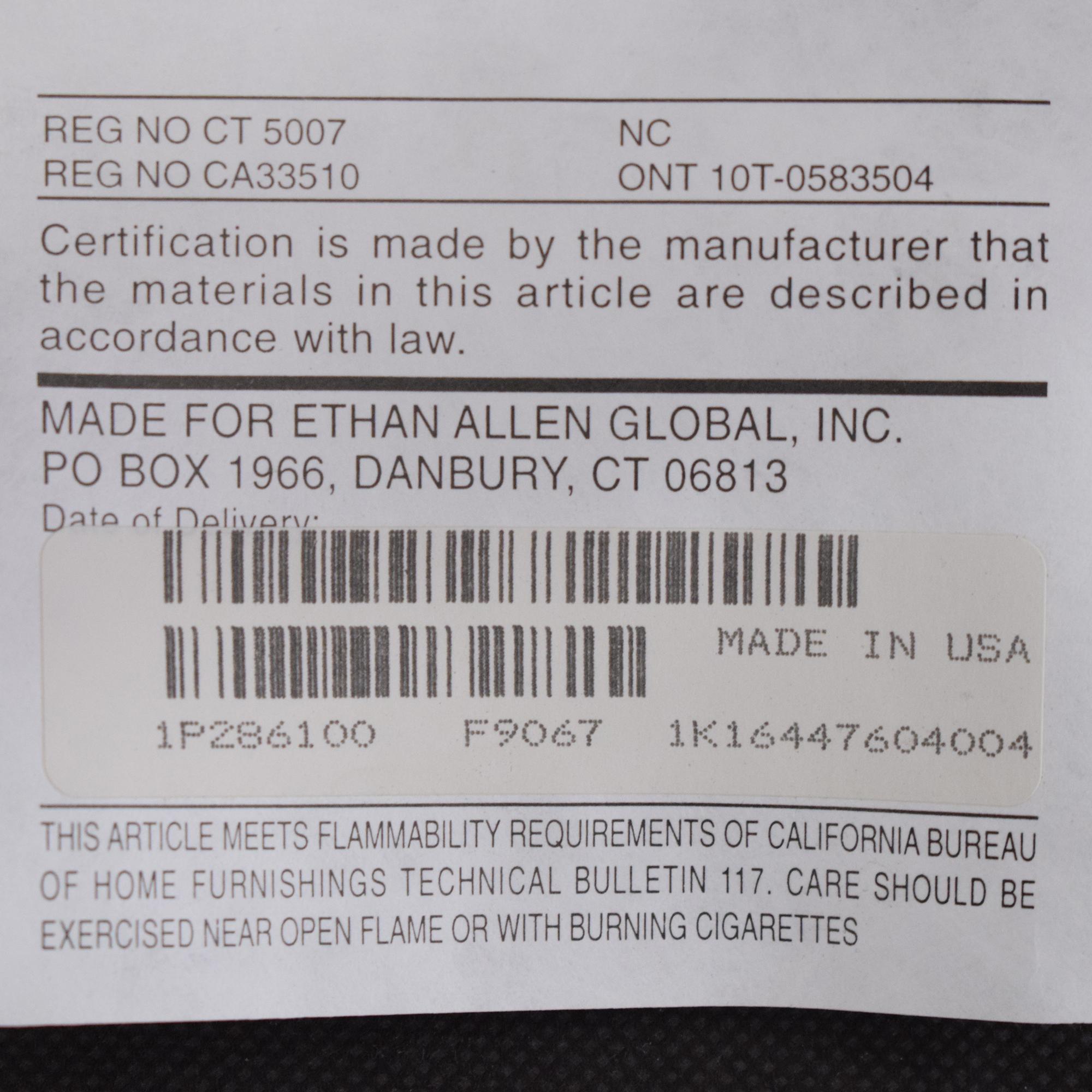 shop Ethan Allen Ethan Allen Upholstered Dining Chairs online