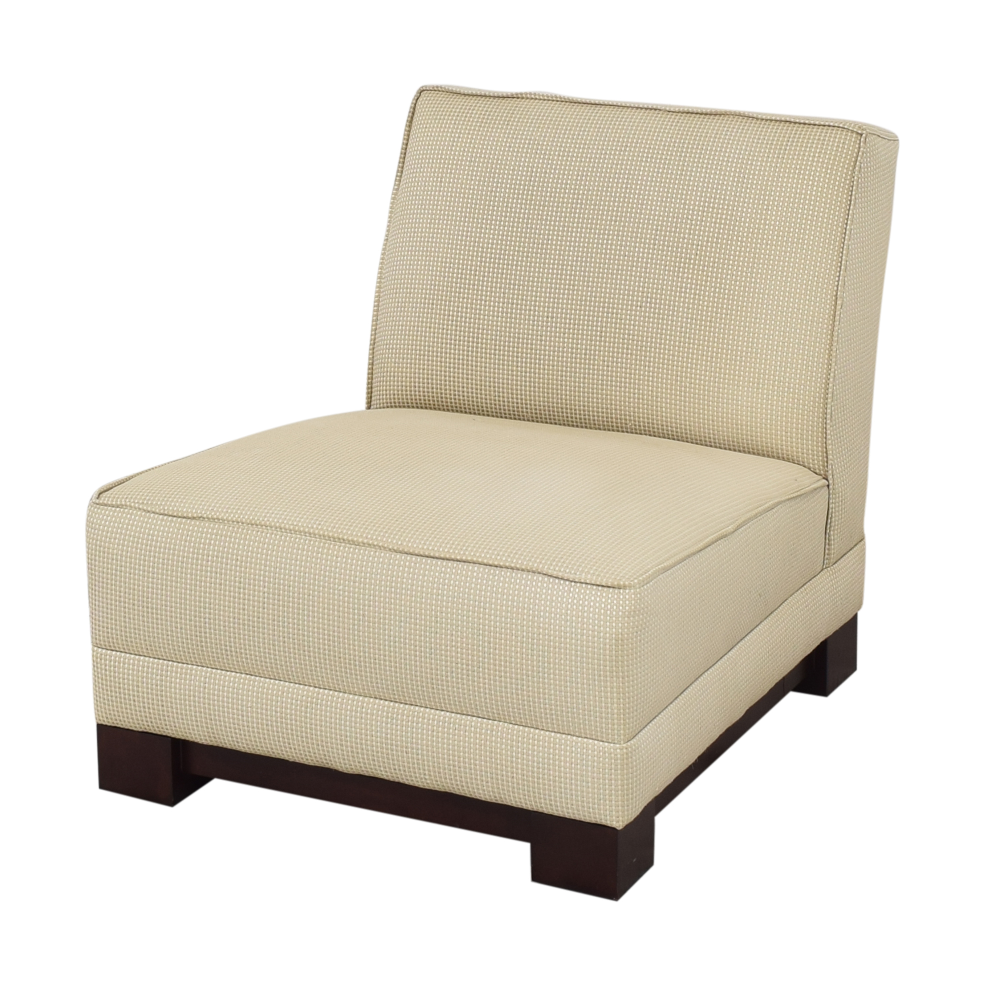 shop Ralph Lauren Home Hasley Slipper Chair with Ottoman Ralph Lauren Home Accent Chairs