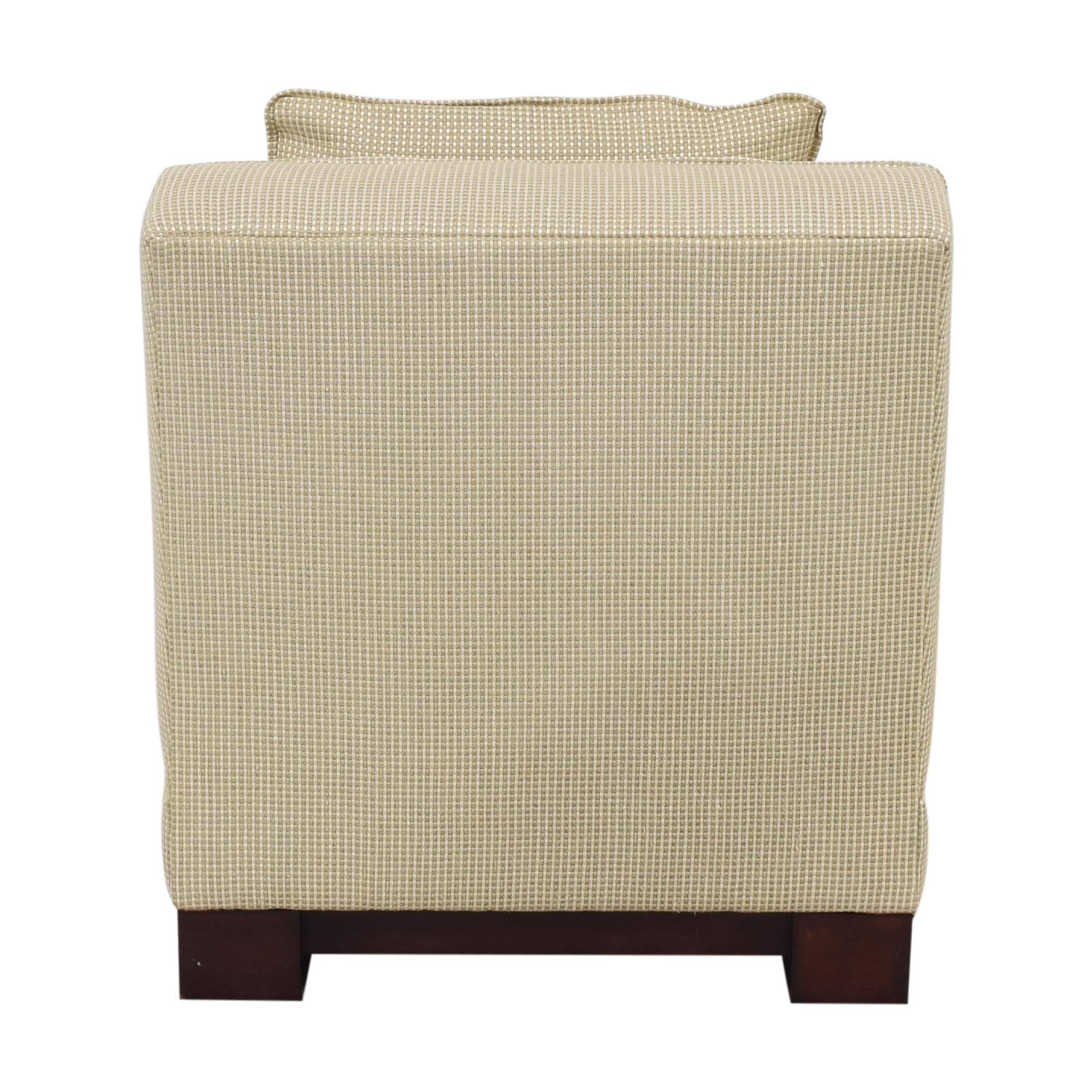 buy Ralph Lauren Home Hasley Slipper Chair with Ottoman Ralph Lauren Home