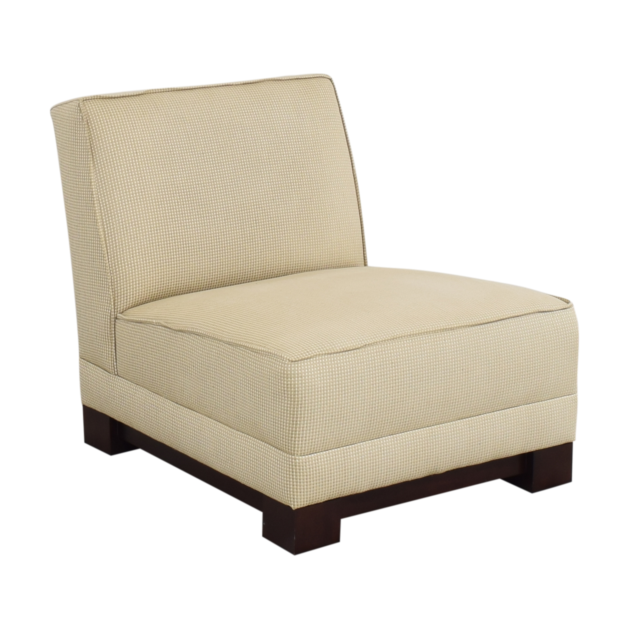Ralph Lauren Home Hasley Slipper Chair with Ottoman / Accent Chairs