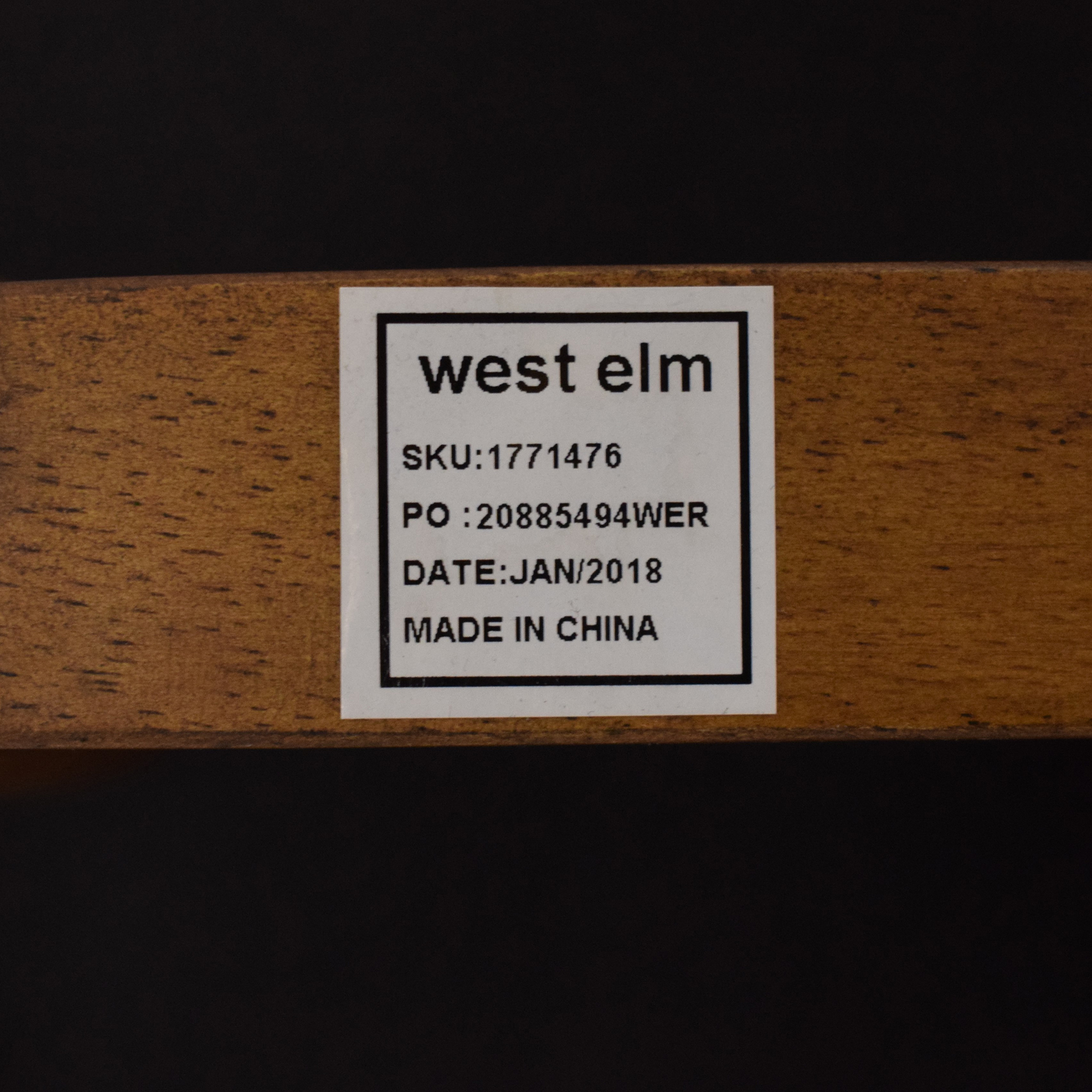 West Elm West Elm Mid-Century Office Chair used