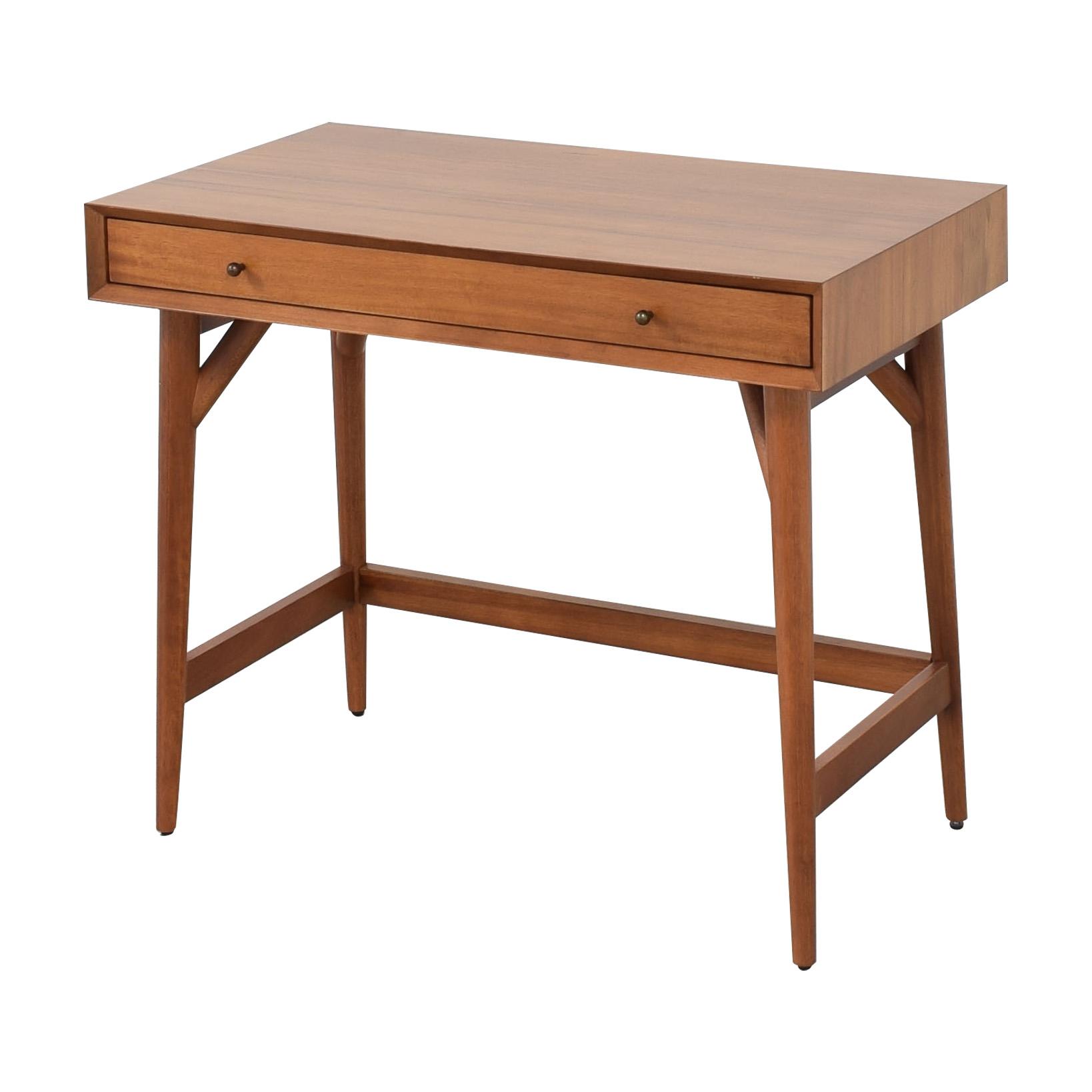 buy West Elm Mid Century Mini Desk West Elm Home Office Desks
