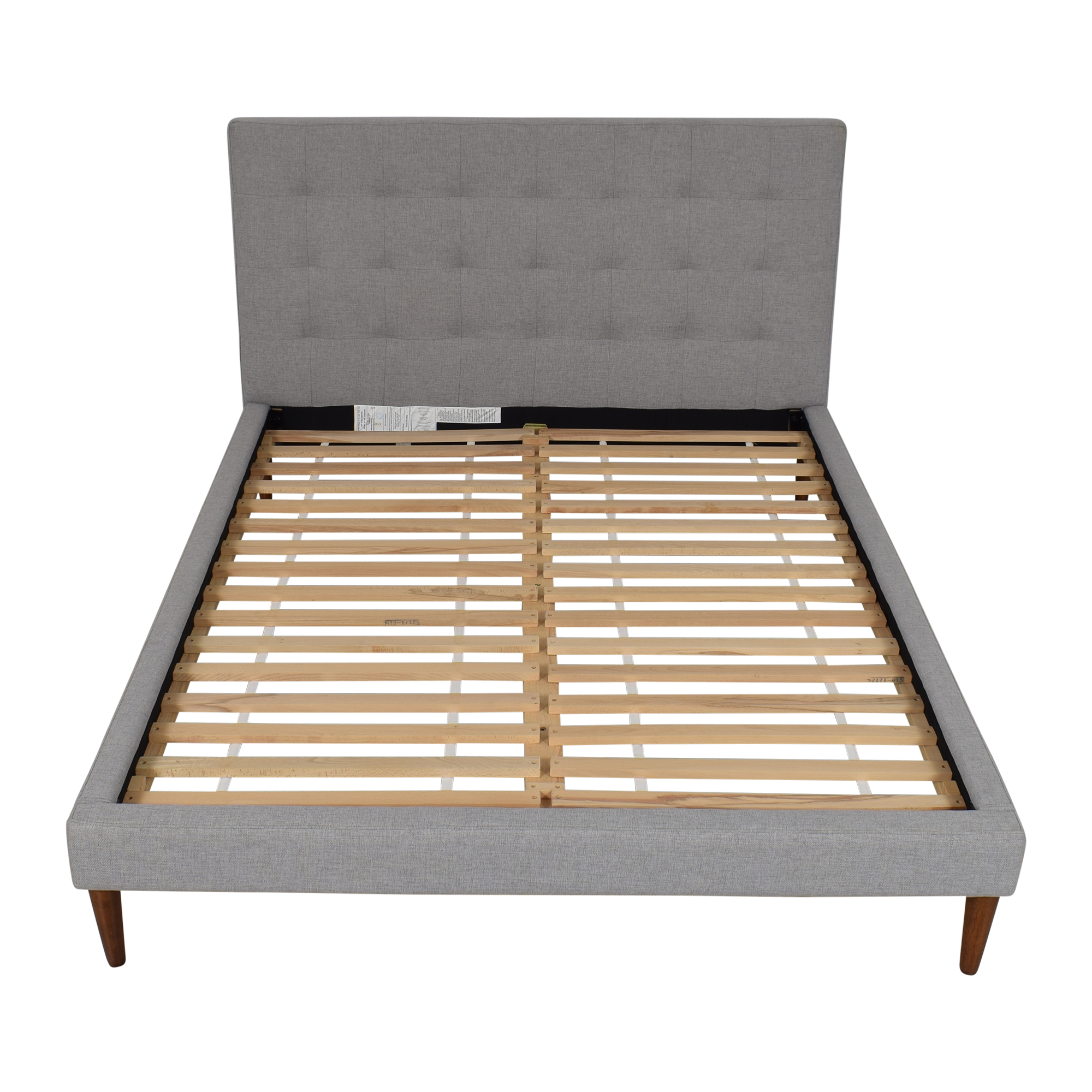 West Elm West Elm Grid-Tufted Tapered Leg Queen Bed coupon