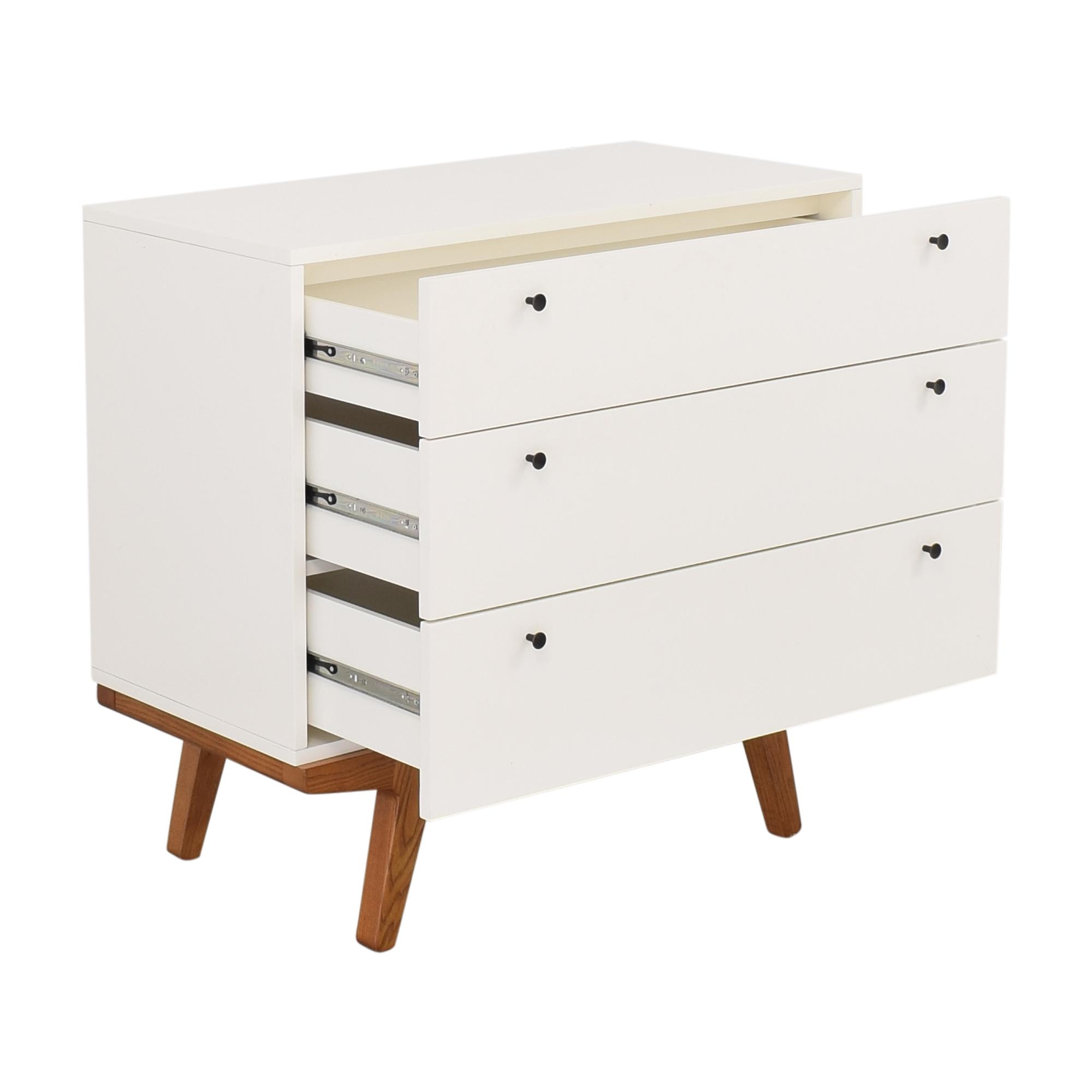 21 Off West Elm West Elm Modern 3 Drawer Dresser Storage