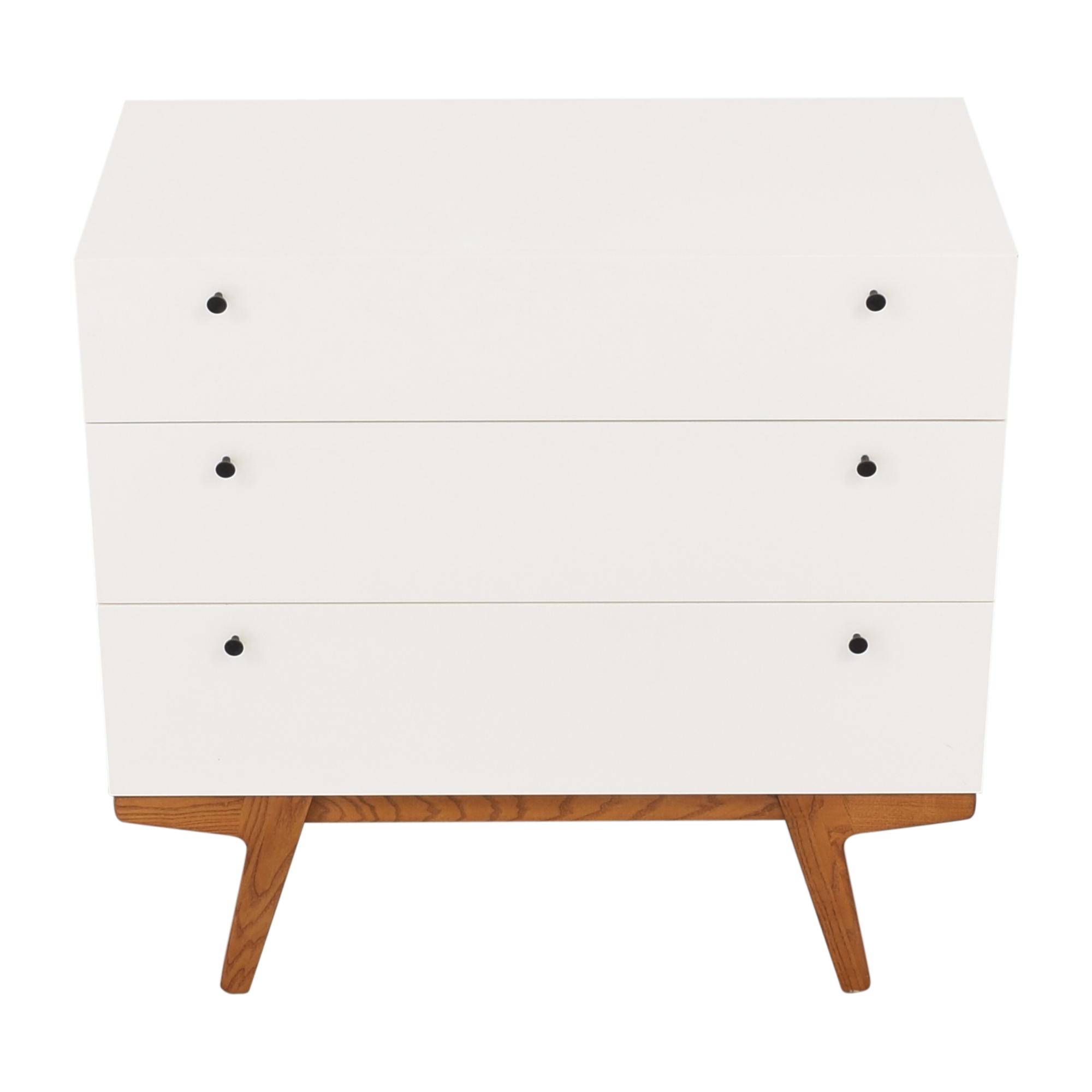 West Elm Modern 3 Drawer Dresser / Storage