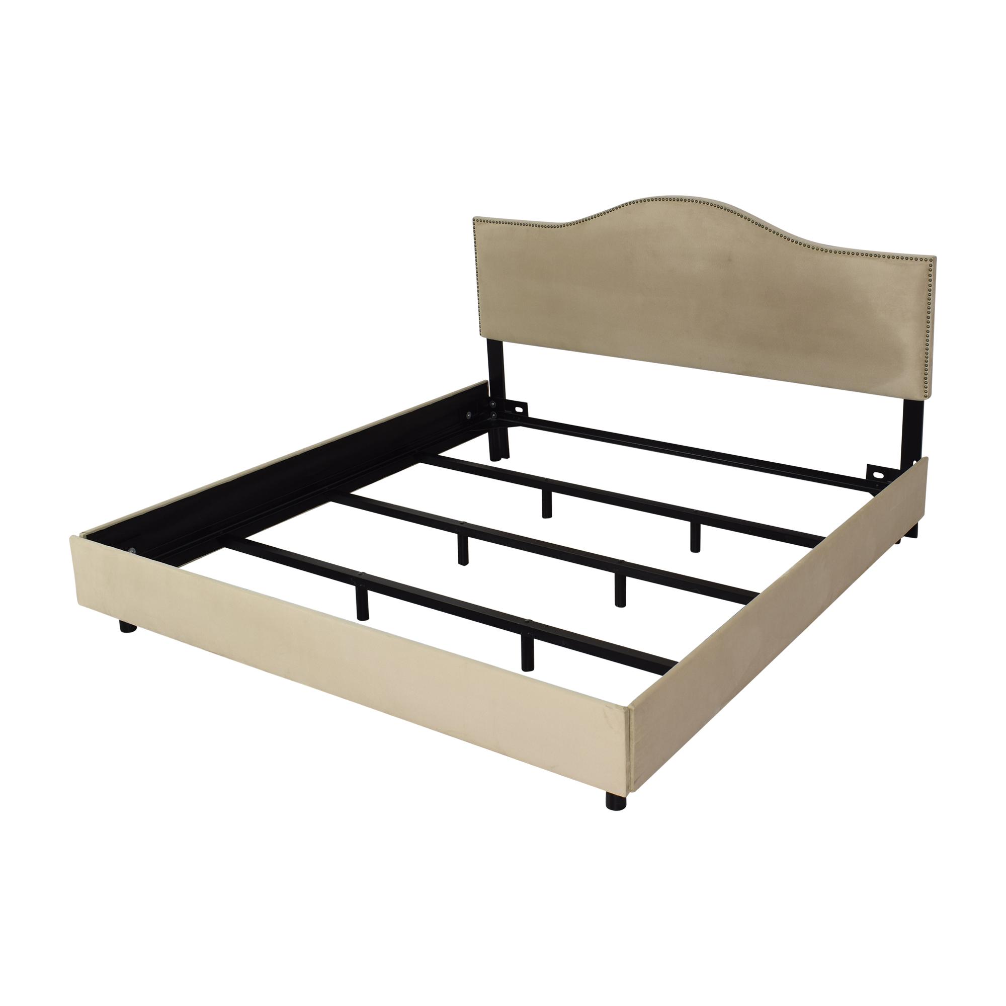 Skyline Furniture Skyline Furniture Upholstered King Bed price
