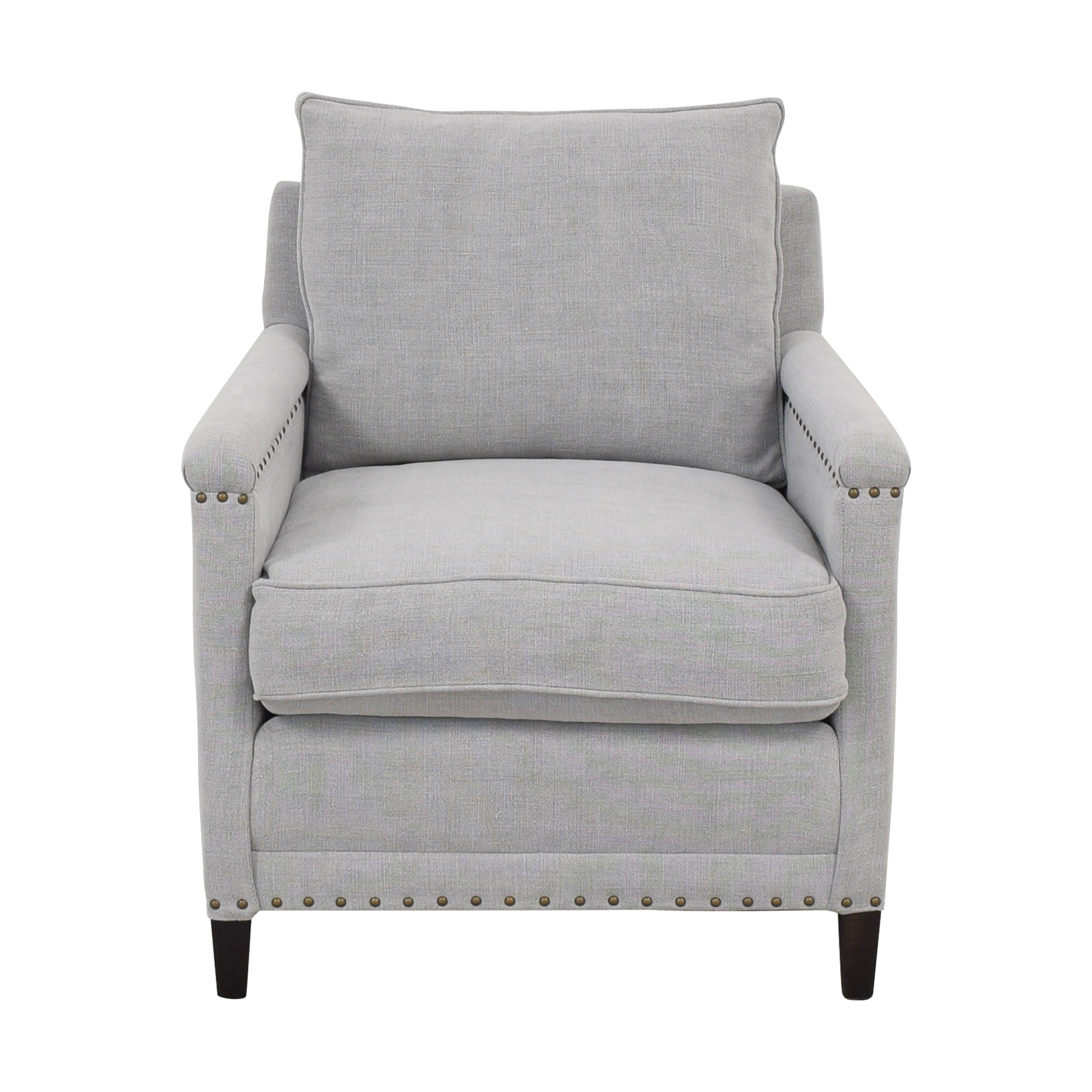buy Williams Sonoma Addison Chair with Nailheads Williams Sonoma Accent Chairs