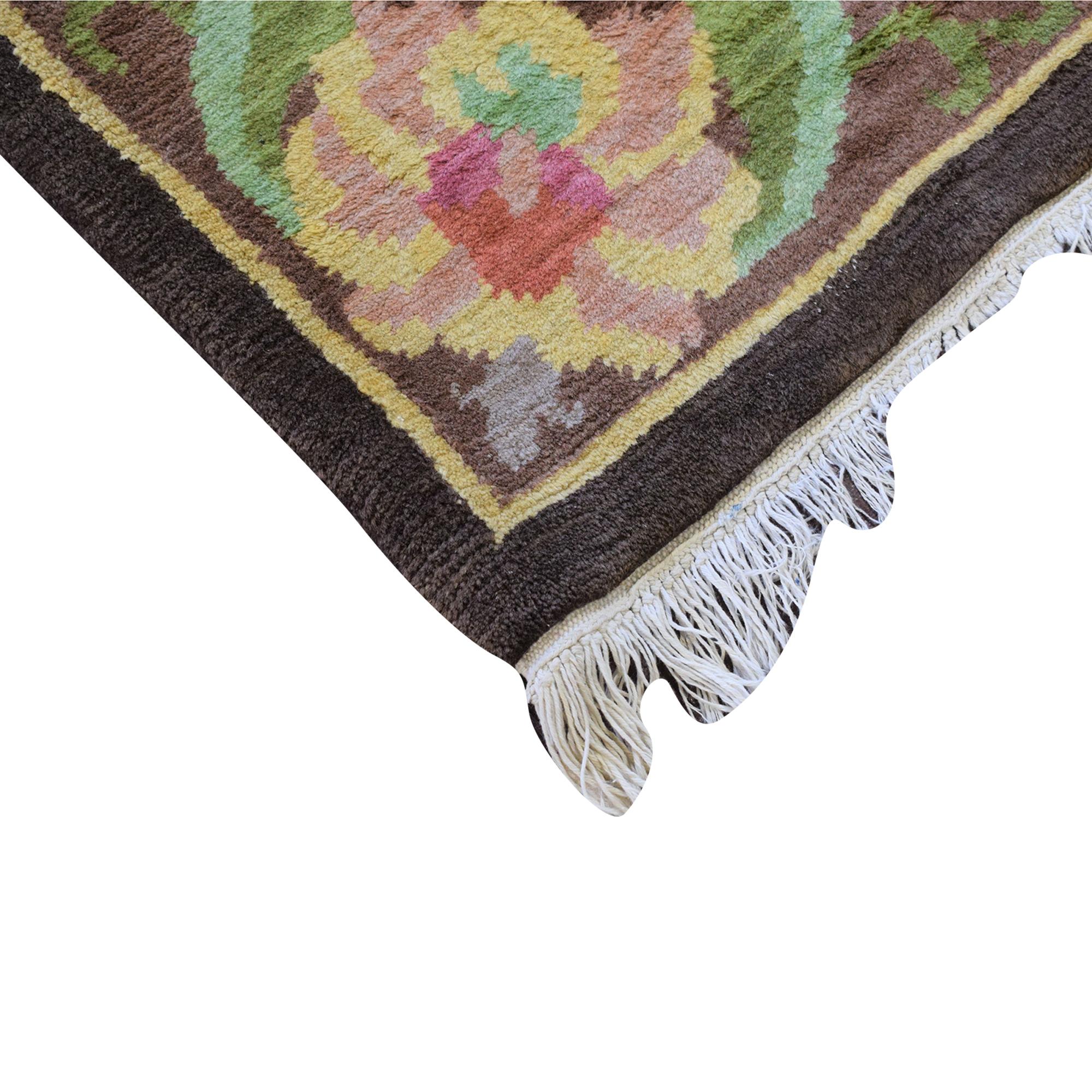 buy Floral Pattern Area Rug  Rugs