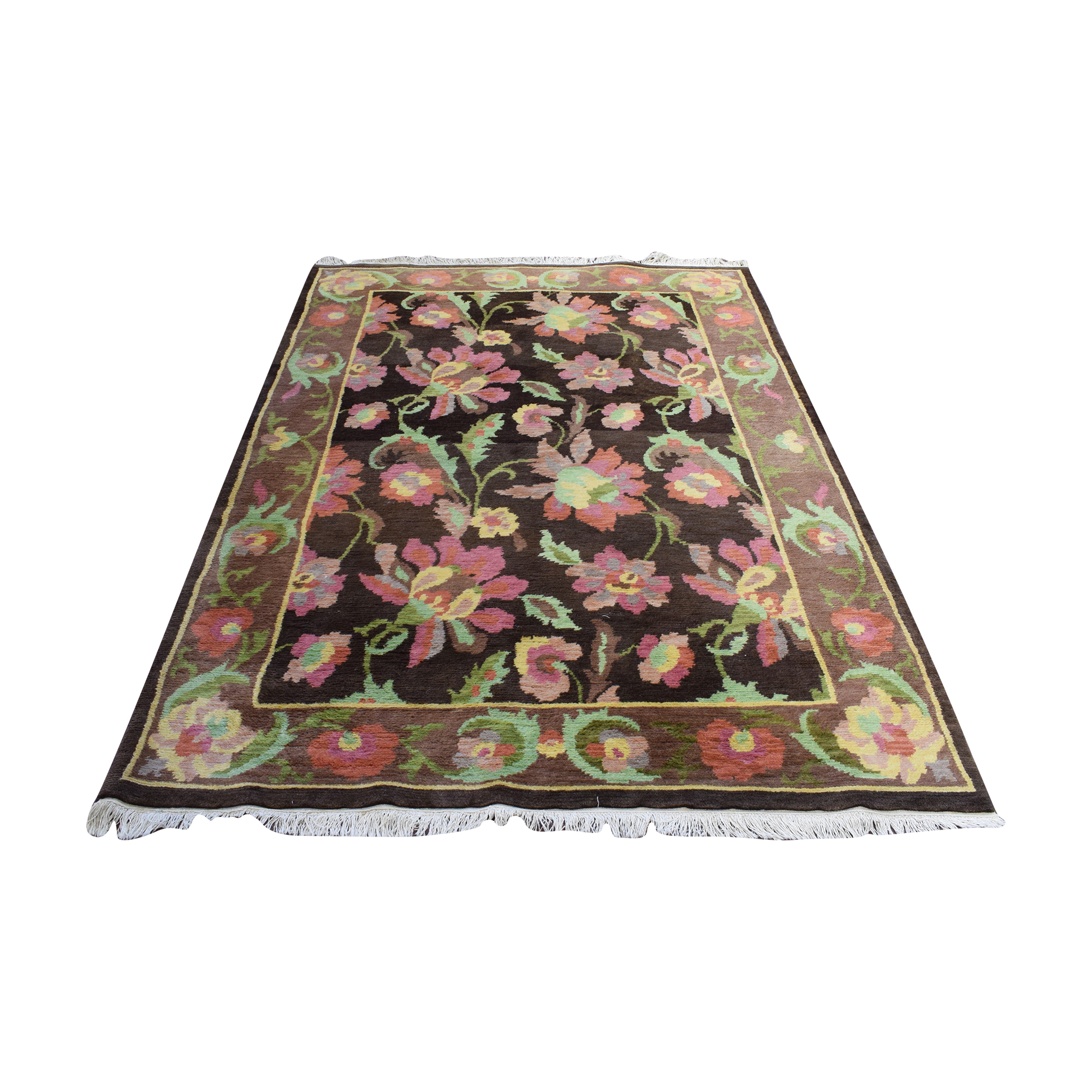 Floral Pattern Area Rug sale
